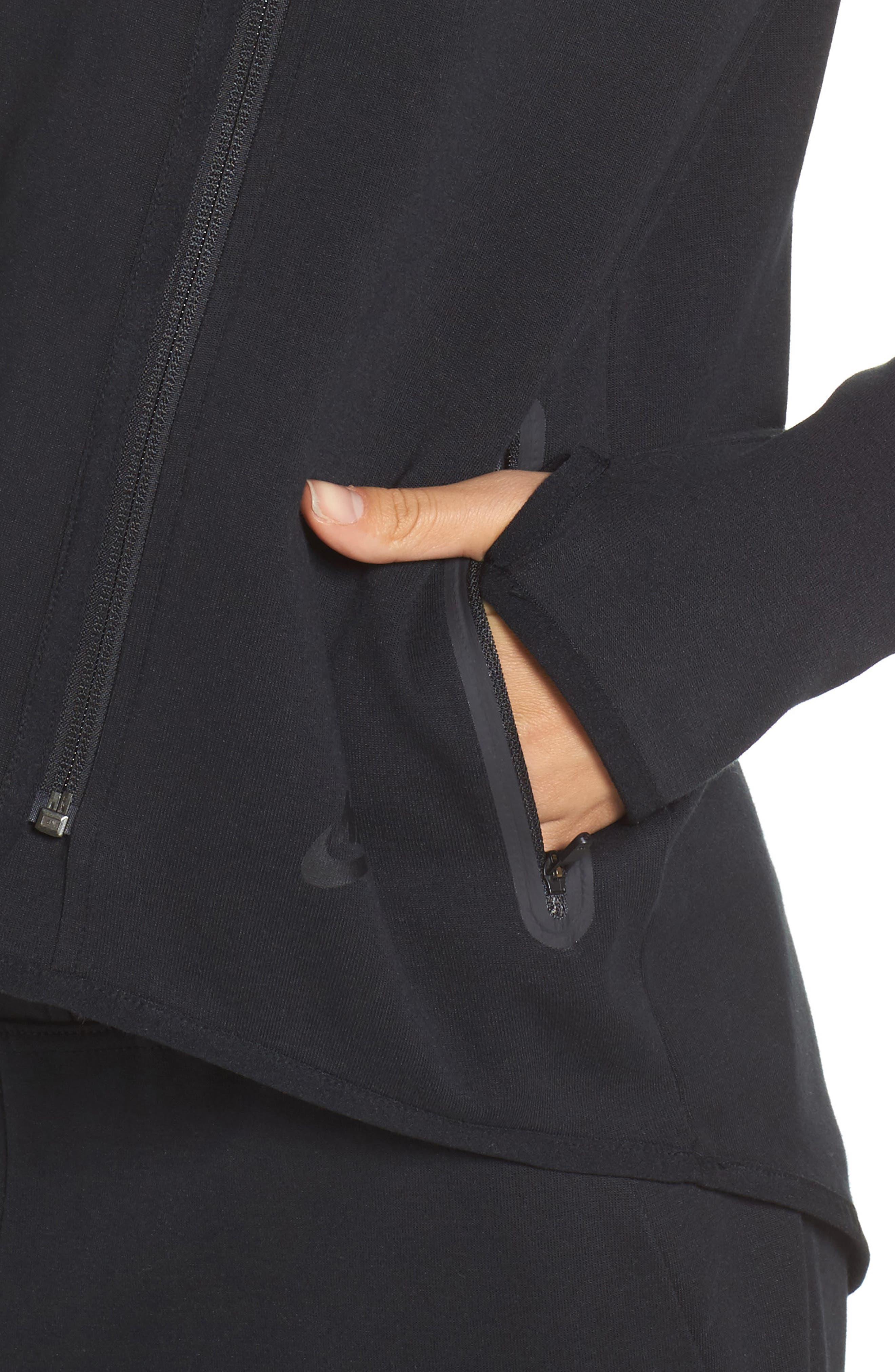 Alternate Image 4  - Nike Tech Fleece Hoodie