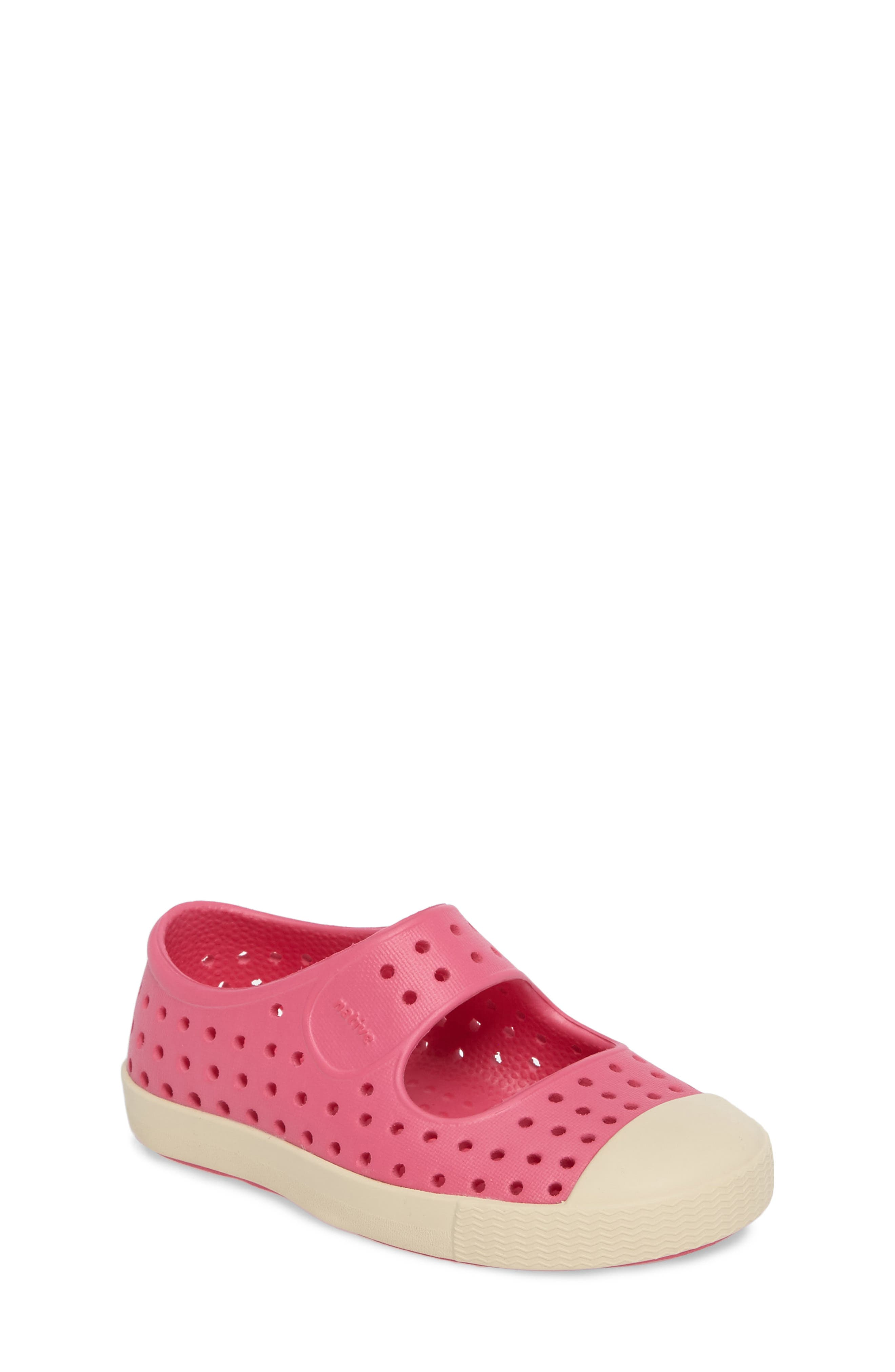 Native Shoes Juniper Perforated Mary Jane (Baby, Walker, Toddler & Little Kid)