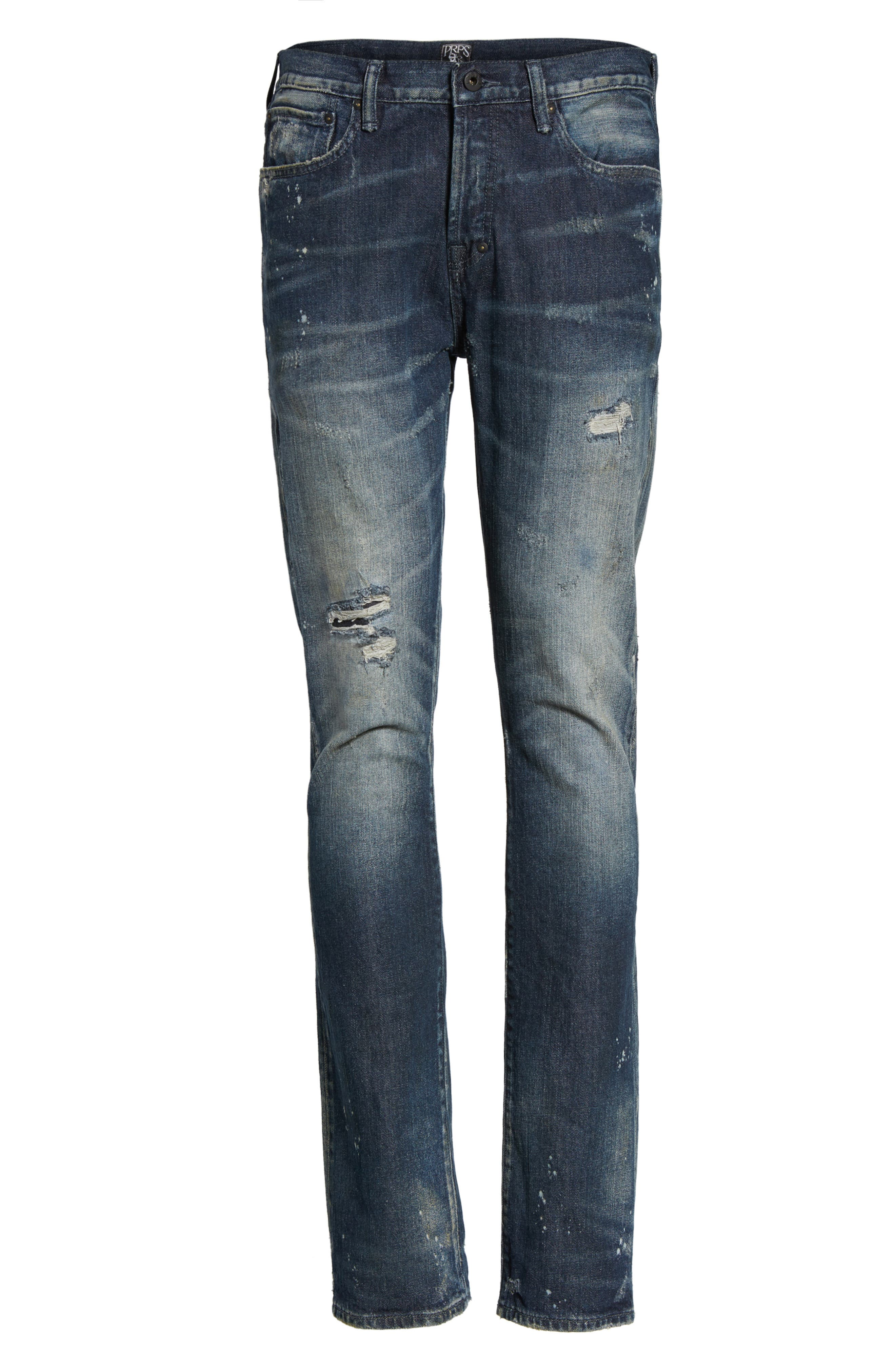 Alternate Image 6  - PRPS Demon Slim Straight Leg Jeans