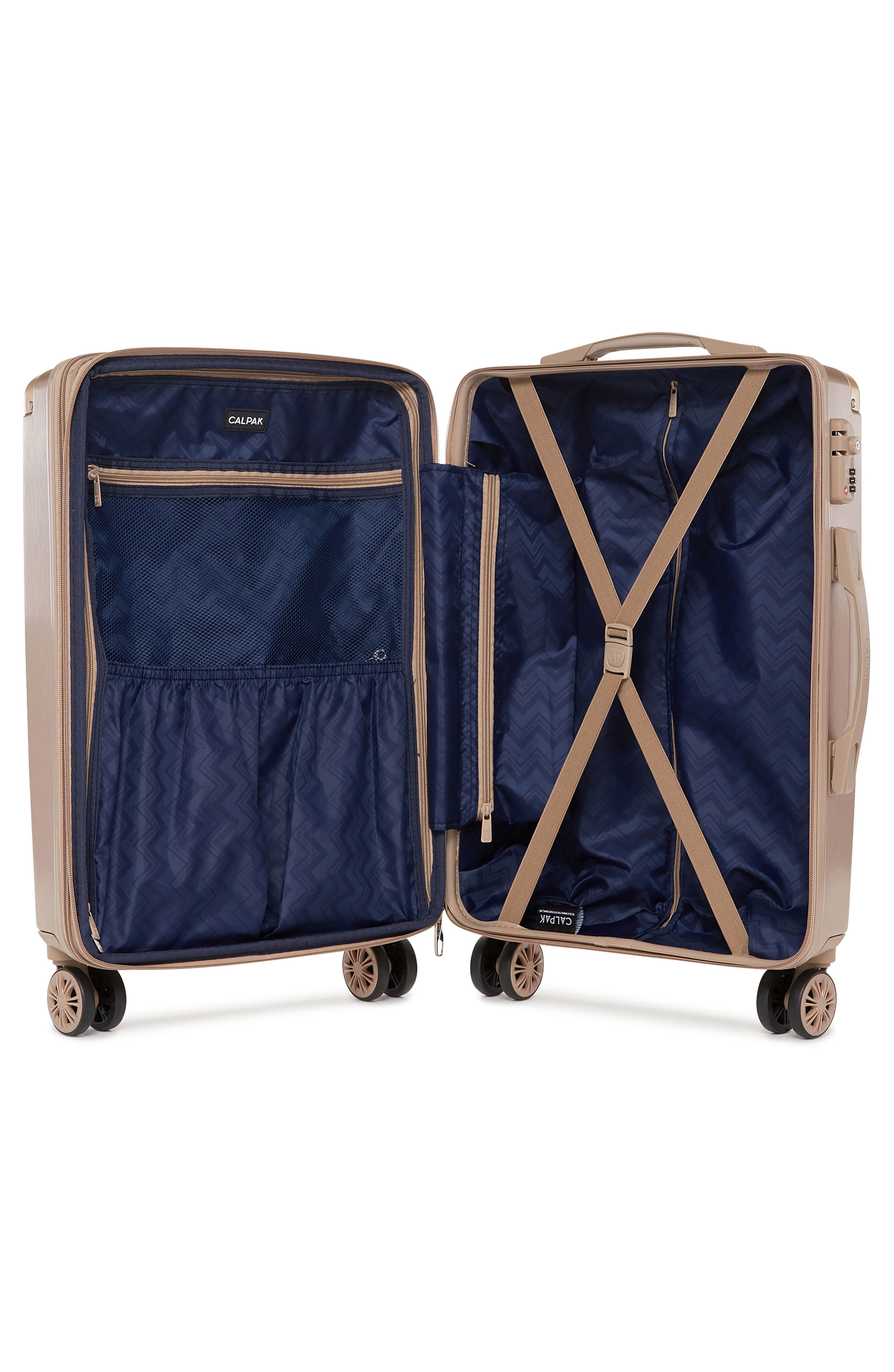 Alternate Image 2  - CALPAK Ambeur 20-Inch Rolling Spinner Carry-On