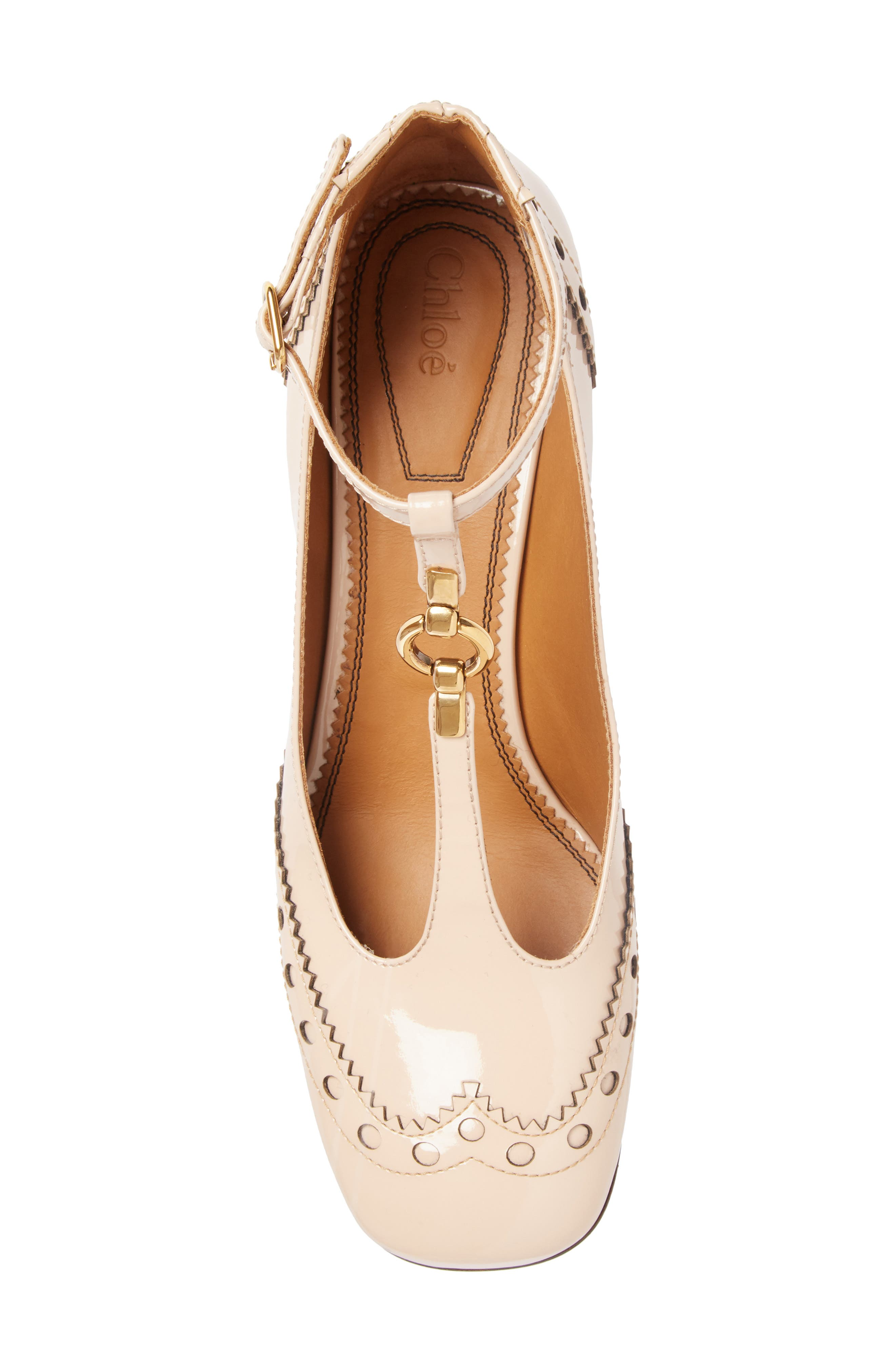 Alternate Image 3  - Chloé Perry Wingtip T-Strap Pump (Women)