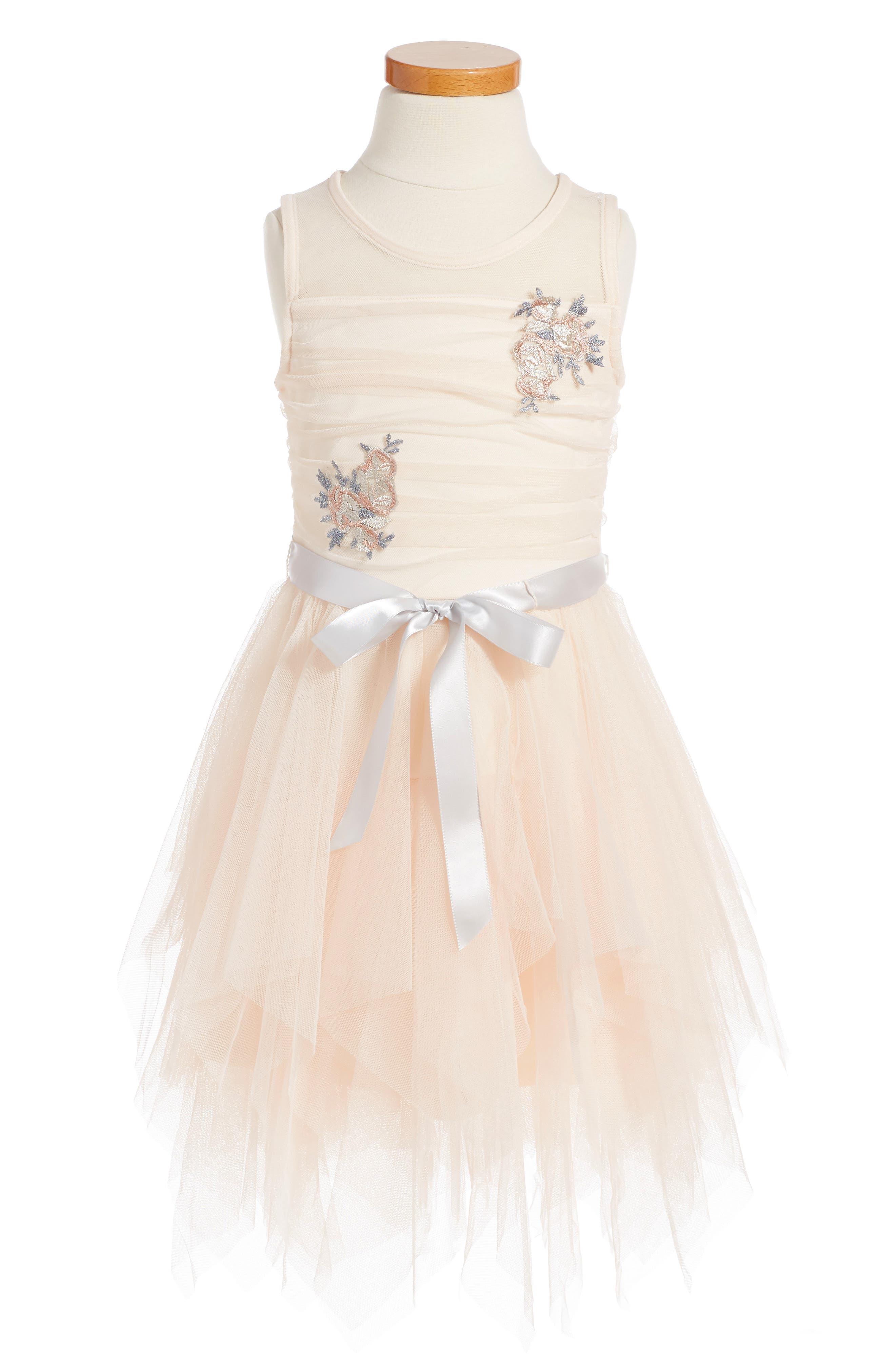 ZUNIE Fairy Hem Embroidered Dress