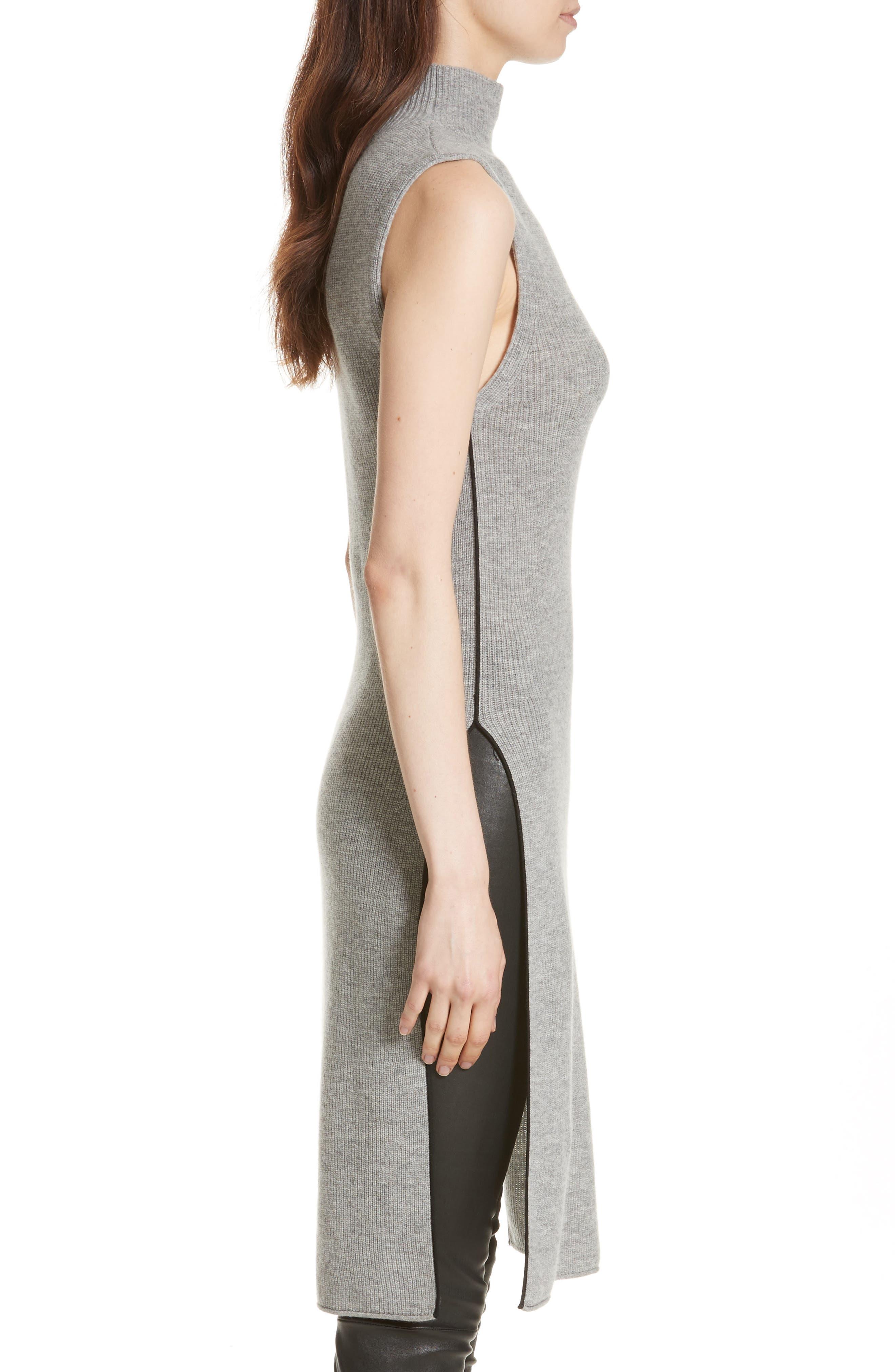 Alternate Image 3  - Alice + Olivia Stori Double Slit Sweater Dress