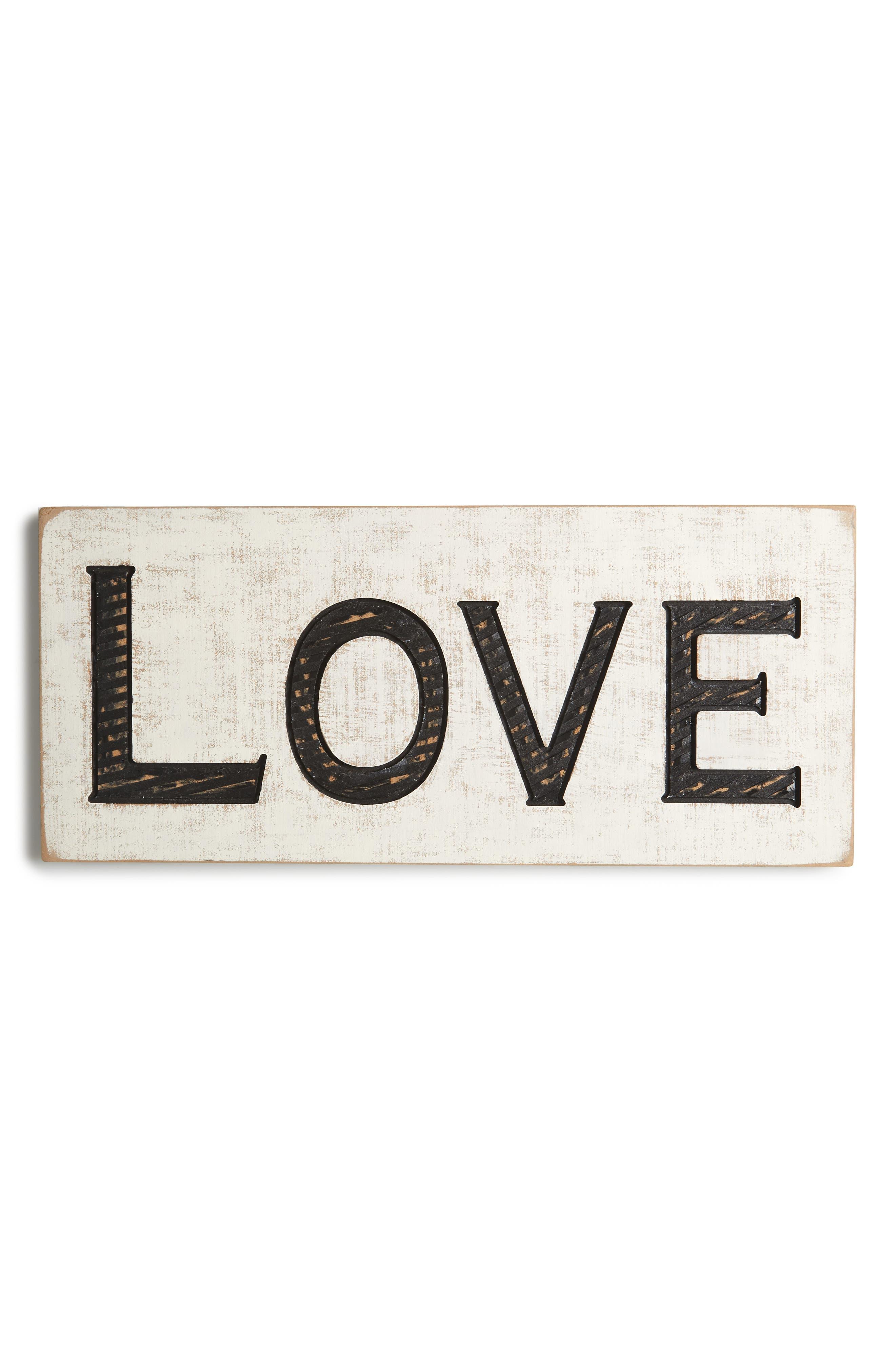 Primitives by Kathy Farmhouse Love Wood Sign