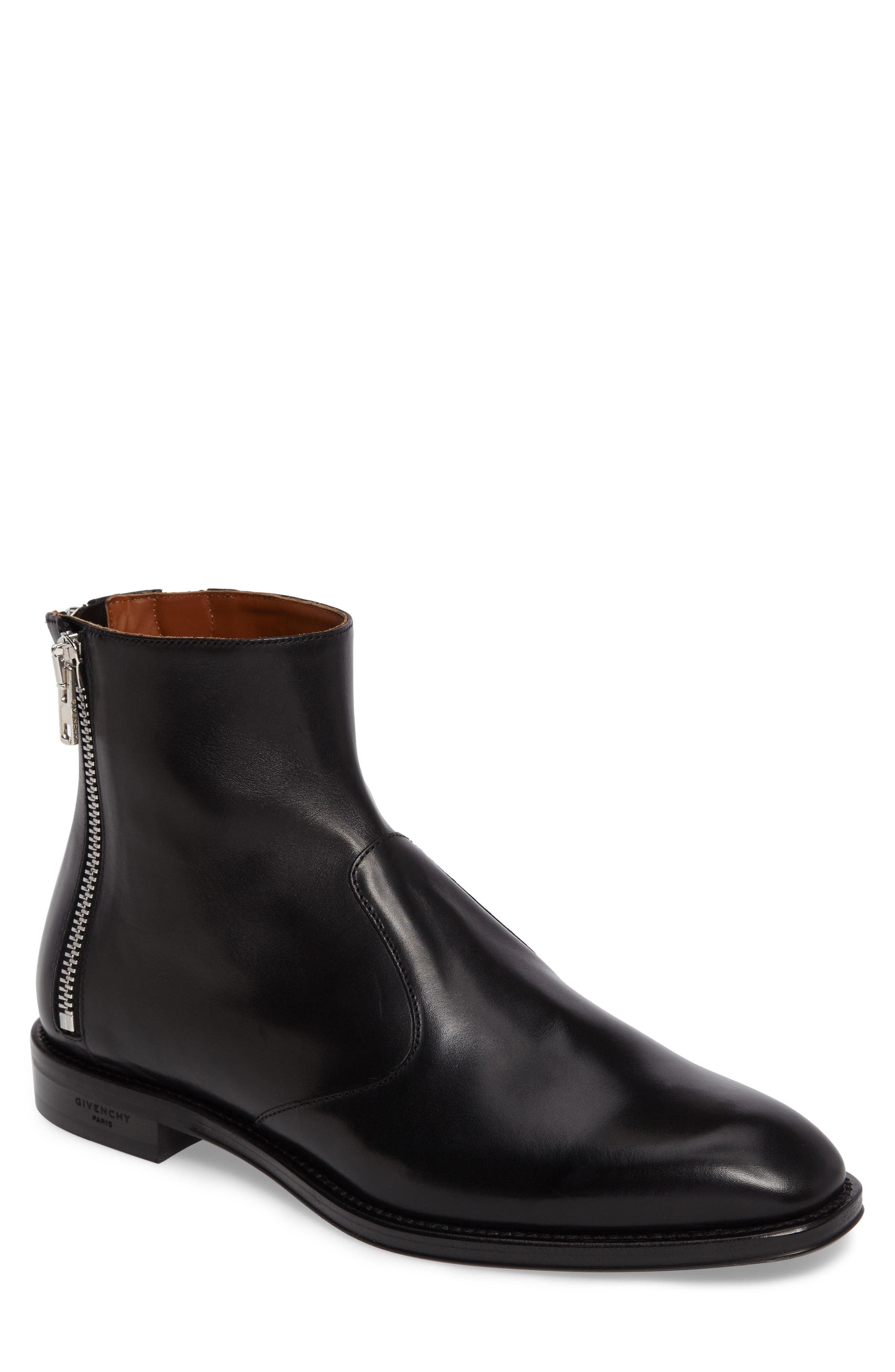 Alternate Image 1 Selected - Givenchy Three-Zipper Boot (Men)