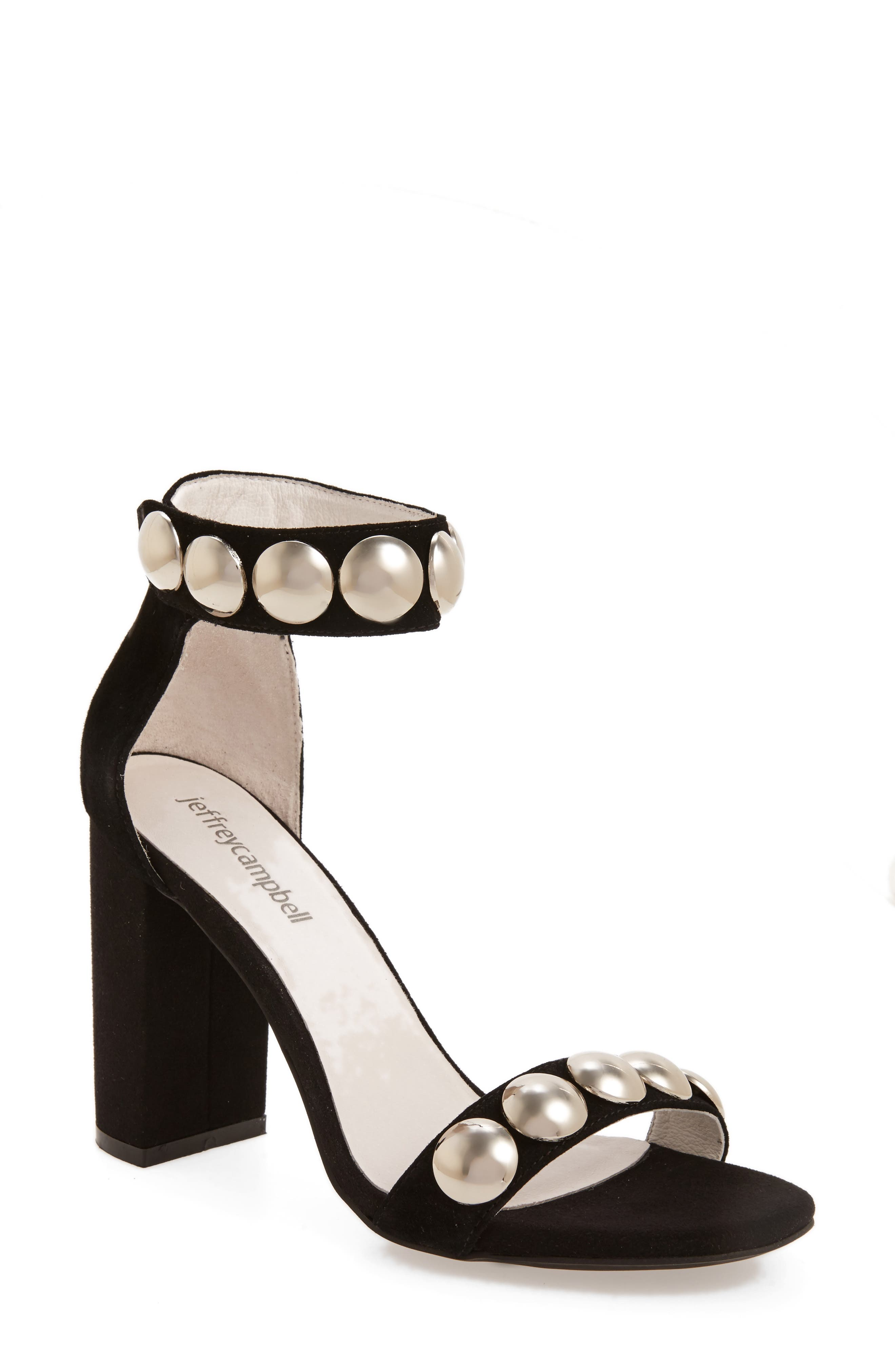 Alternate Image 1 Selected - Jeffrey Campbell Lindsay Dome Studded Sandal (Women)