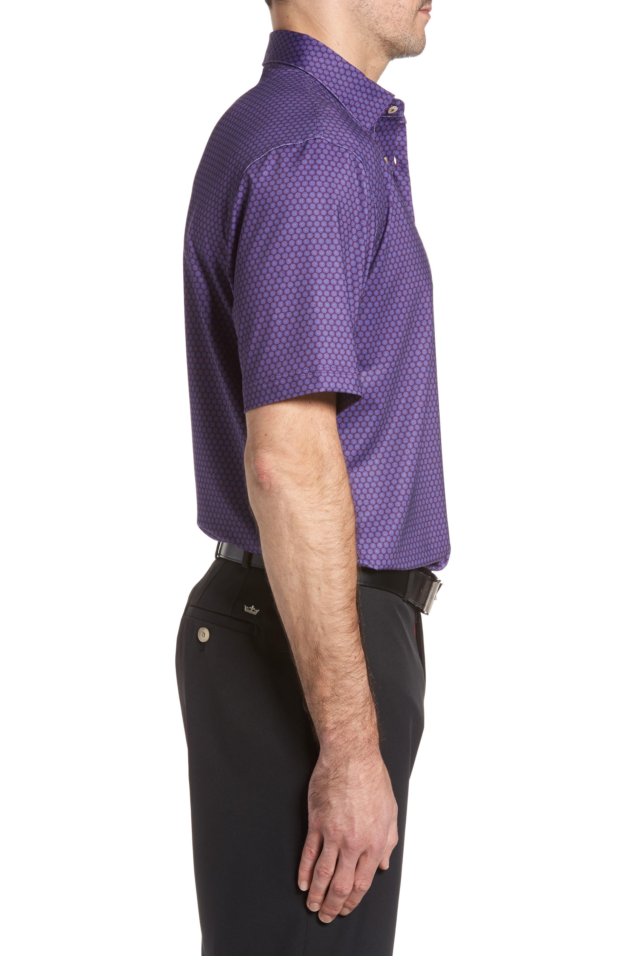 Alternate Image 3  - Peter Millar Sean Mata Sunburst Stretch Jersey Polo