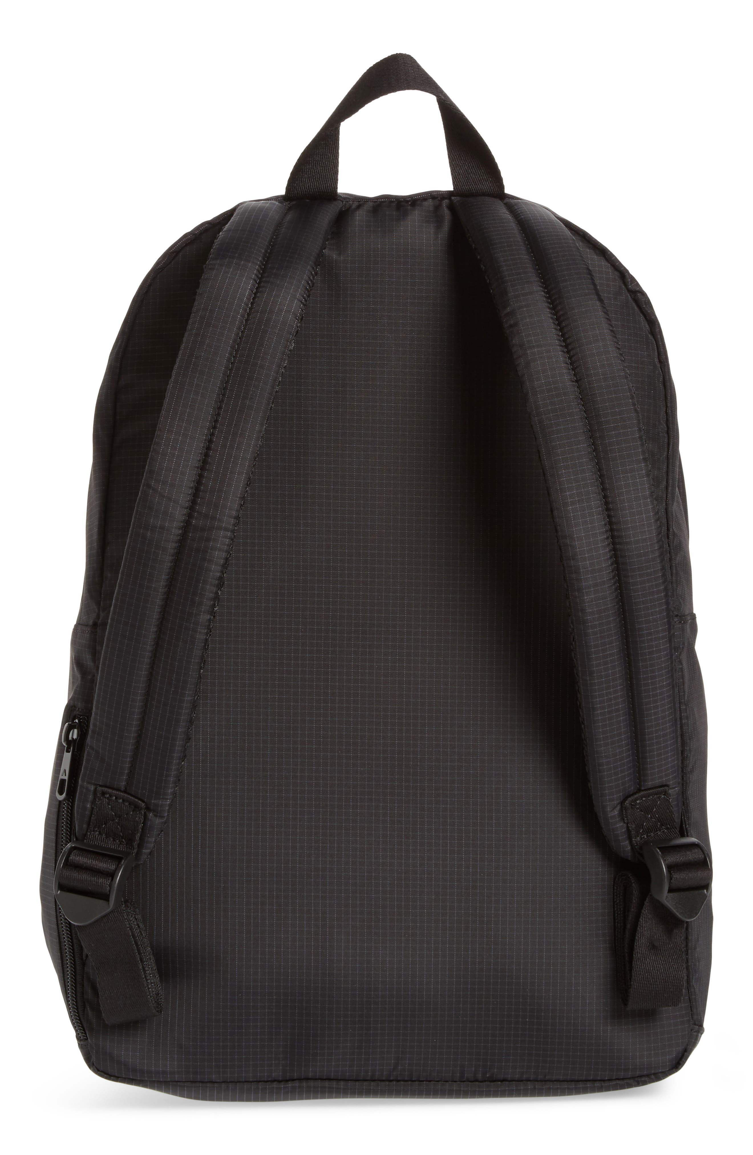 STATE Wyckoff Marshall Laptop Ripstop Backpack,                             Alternate thumbnail 3, color,                             Black