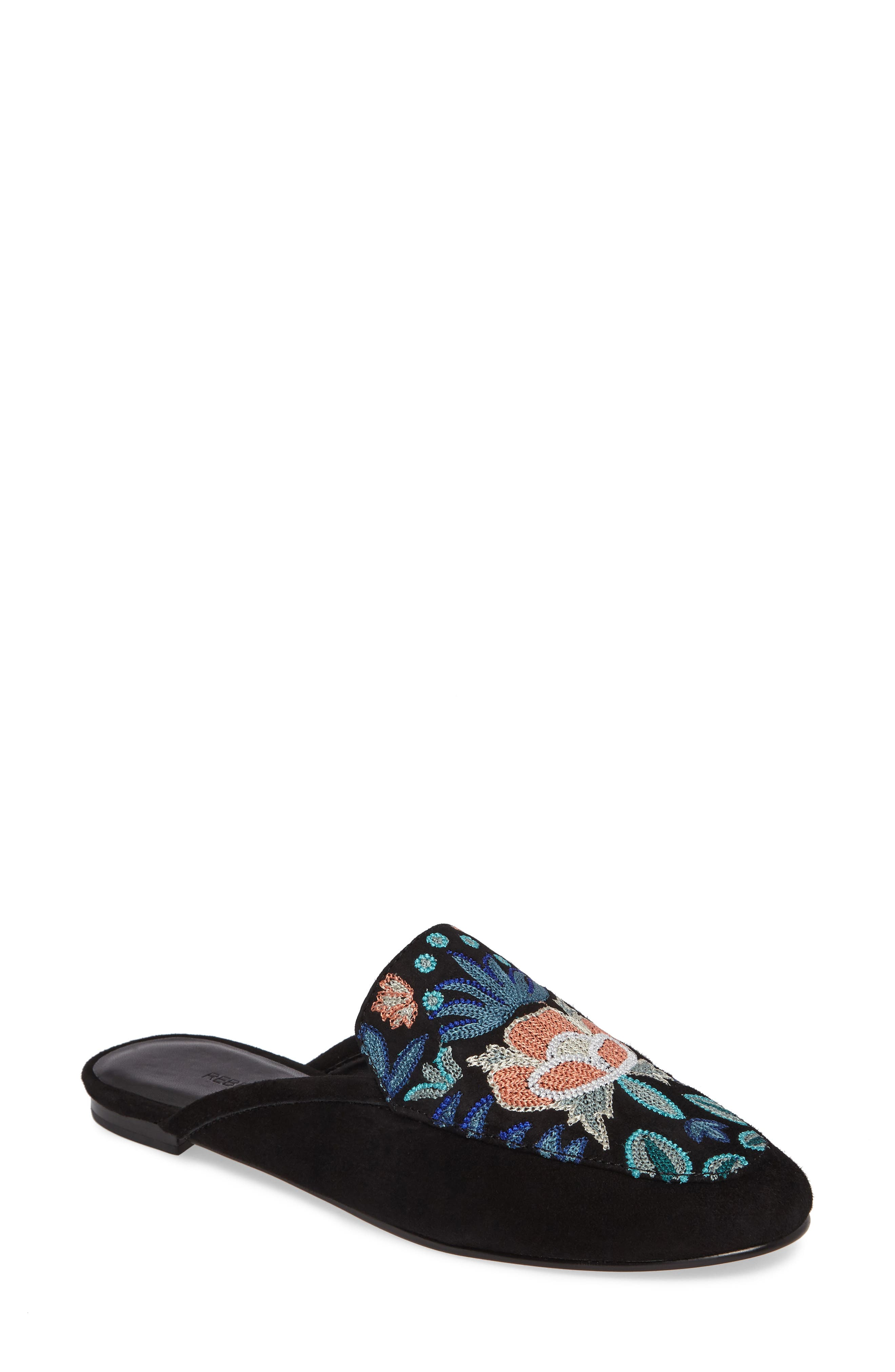 REBECCA MINKOFF Raylee Floral Loafer Mule