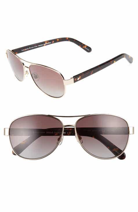 f6e69fe3b1 kate spade new york  dalia  58mm polarized aviator sunglasses