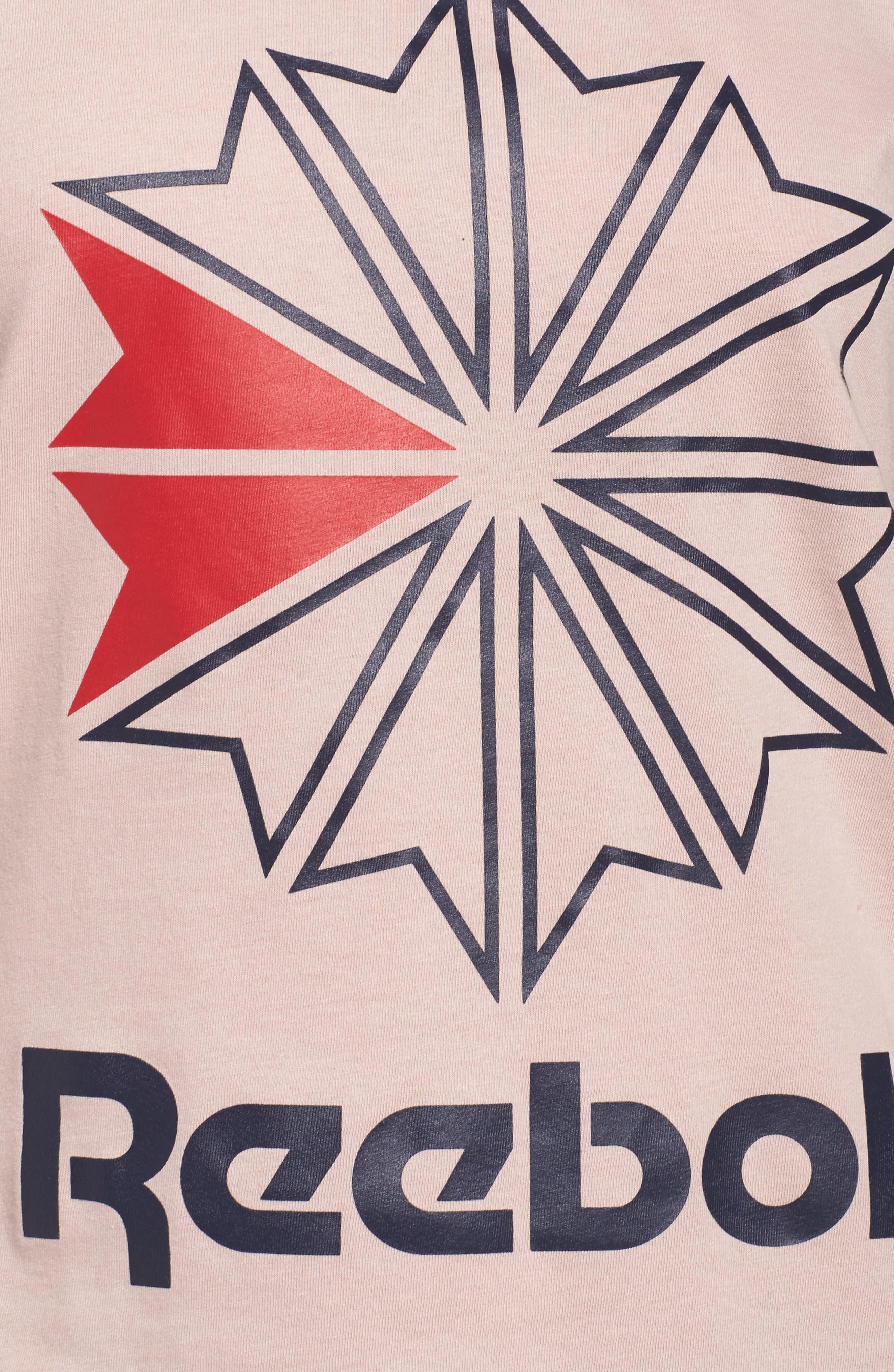 Alternate Image 4  - Reebok Graphic Logo Tee