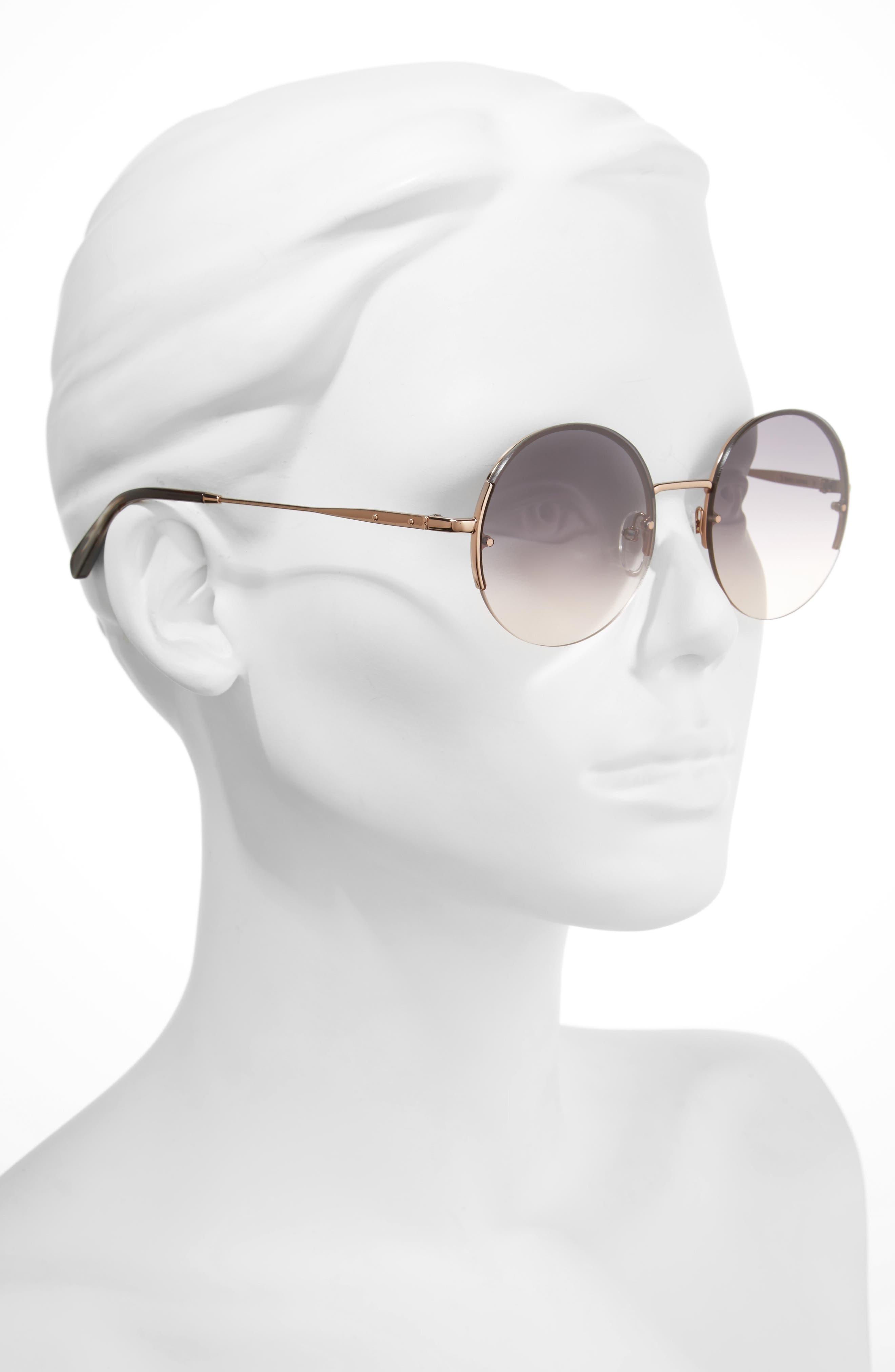 Alternate Image 2  - Bobbi Brown 55mm Round Sunglasses