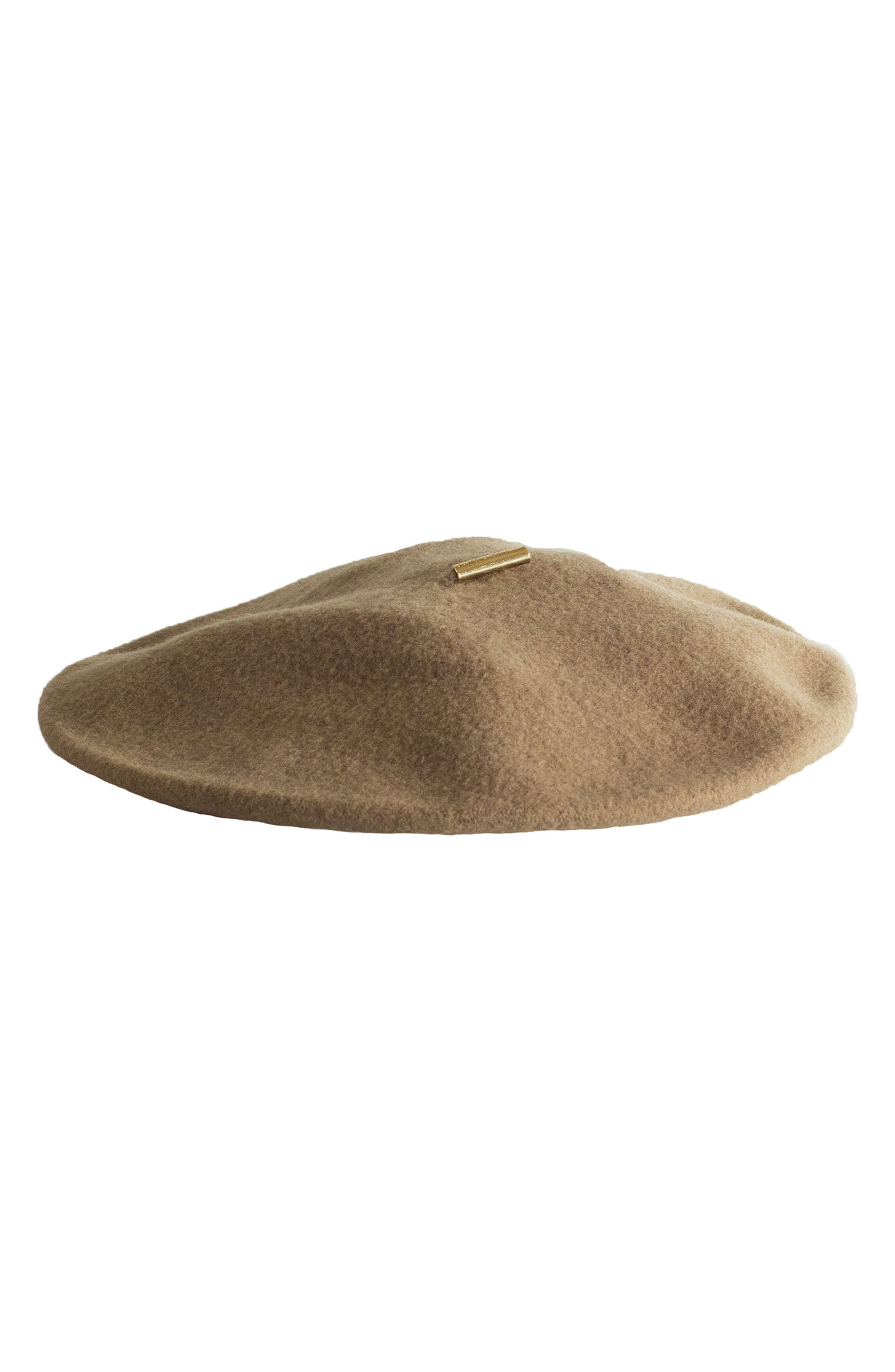 Alternate Image 1 Selected - Janessa Leone Renee Wool Beret