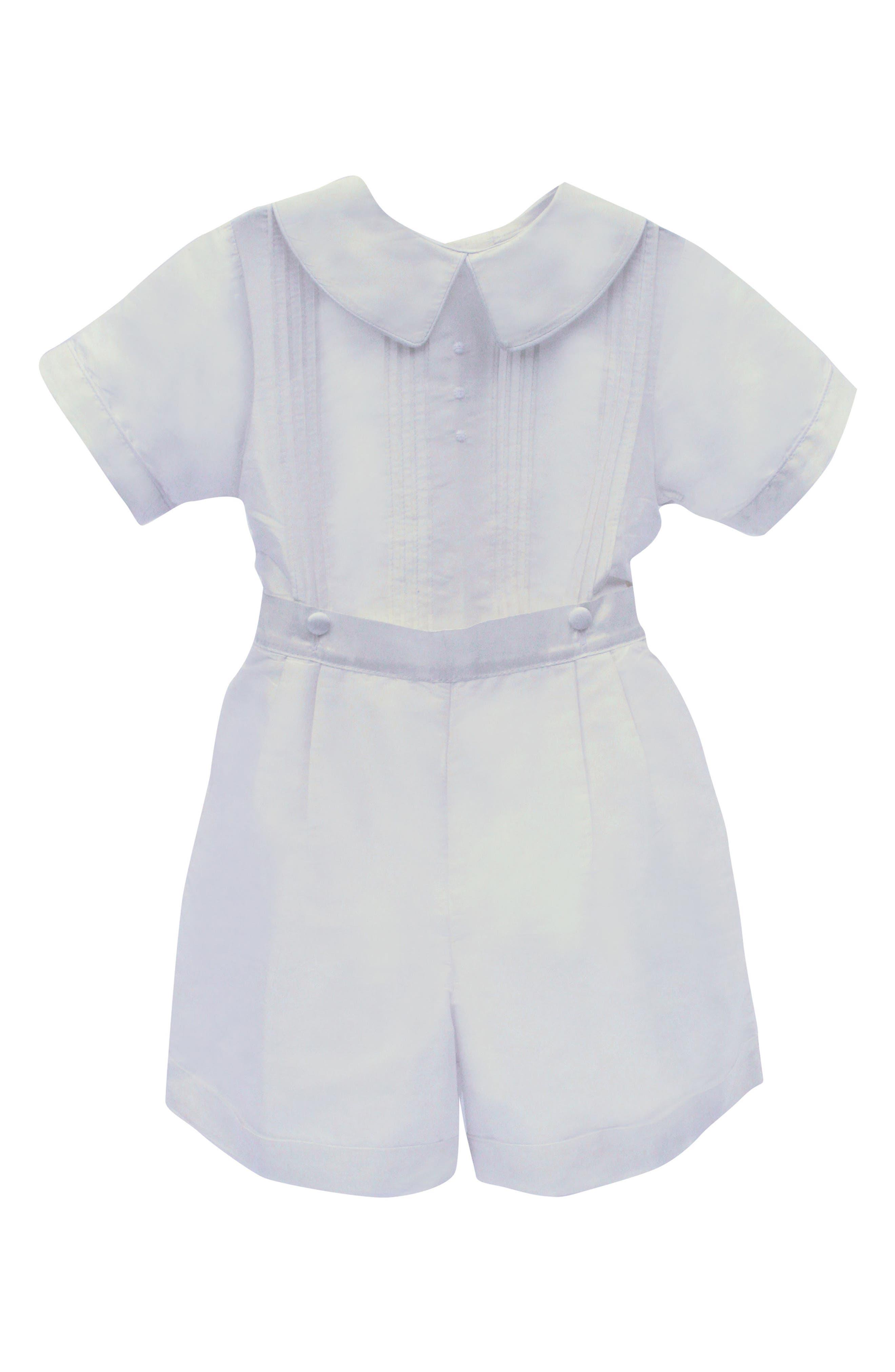 Sebastian Shirt & Shorts,                         Main,                         color, White