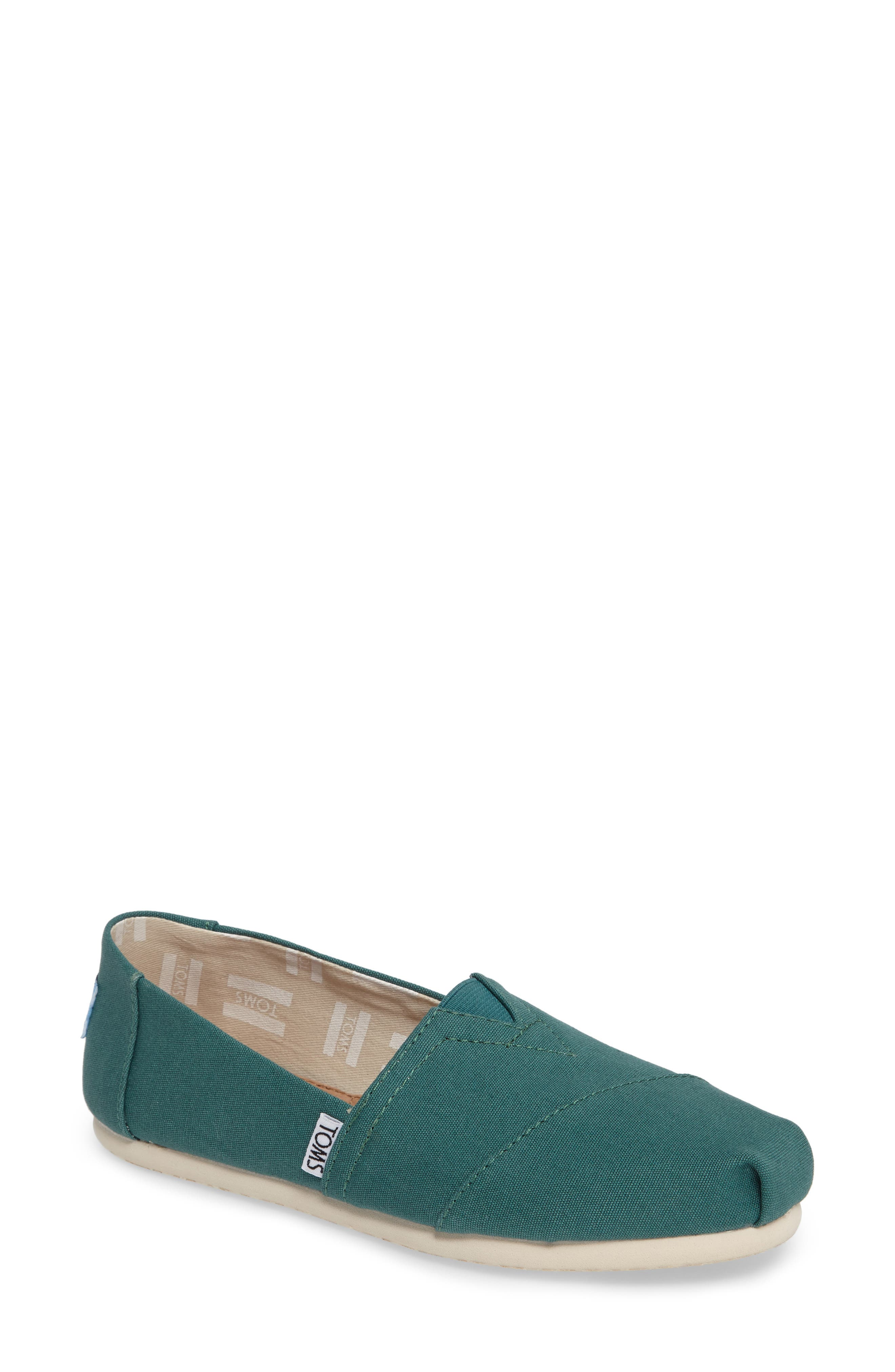 Main Image - TOMS Classic Canvas Slip-On (Women)