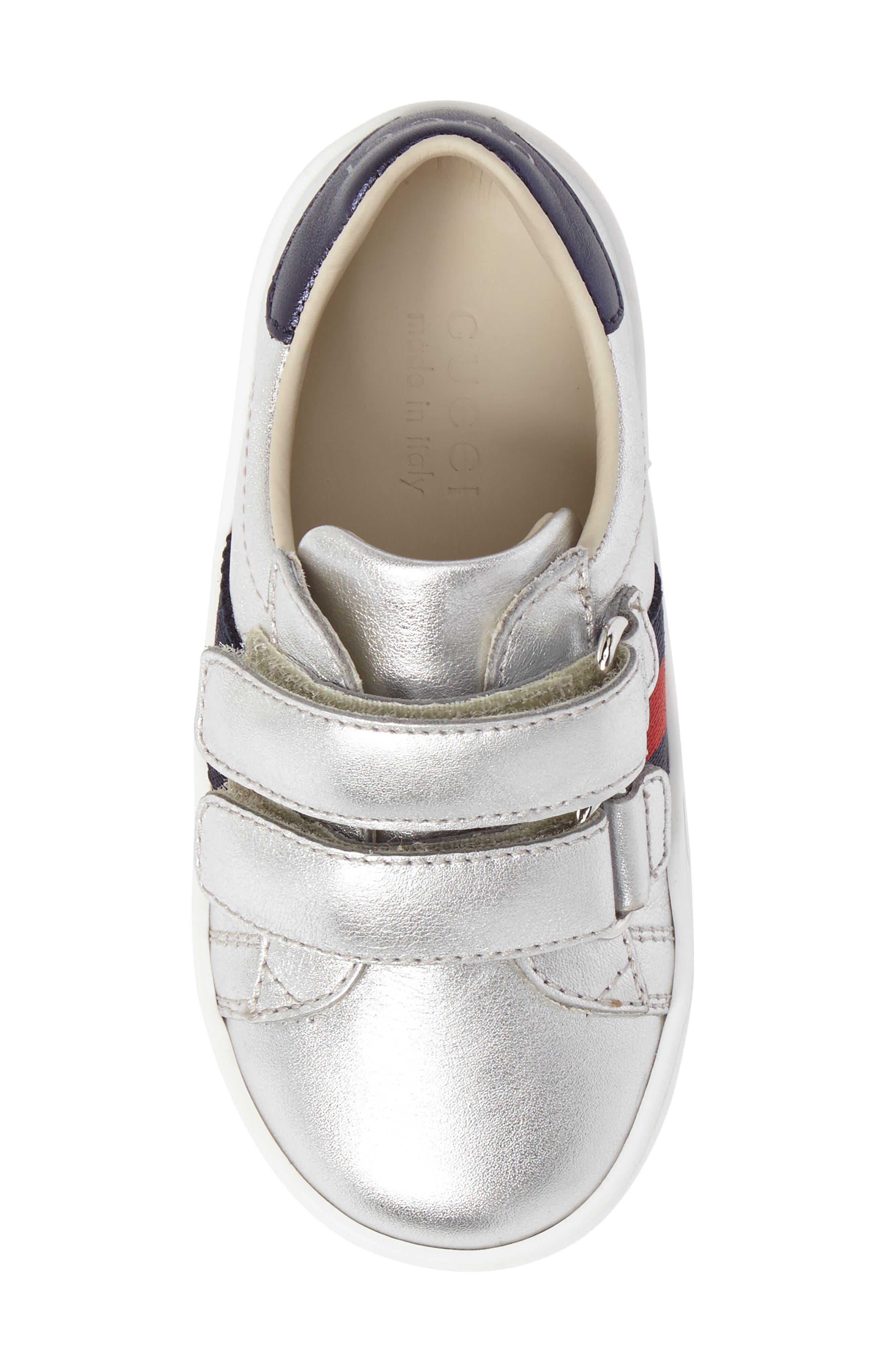 Alternate Image 5  - Gucci New Ace Sneaker (Baby, Walker, Toddler & Little Kid)