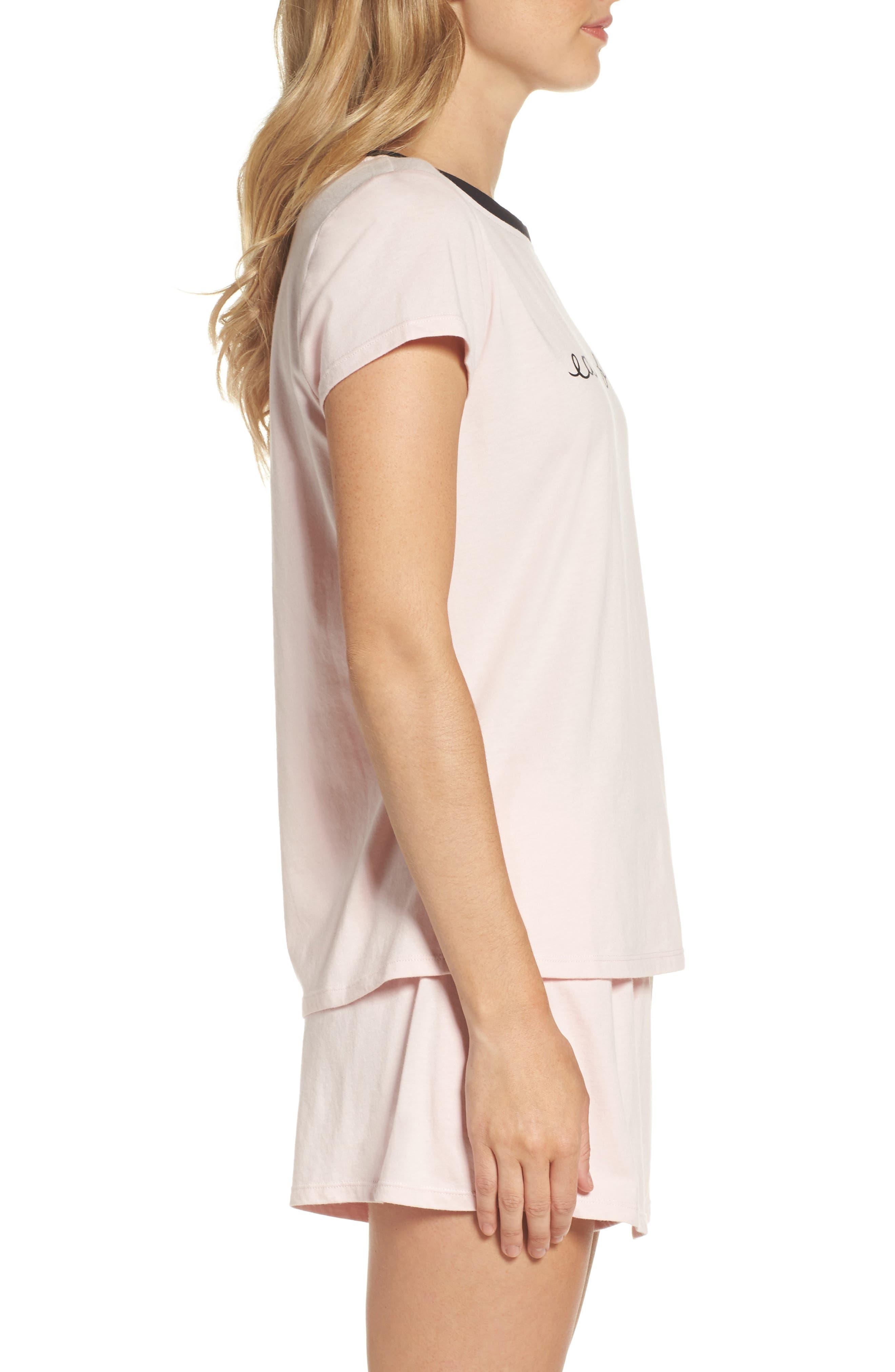 Alternate Image 3  - kate spade new york skort pajamas