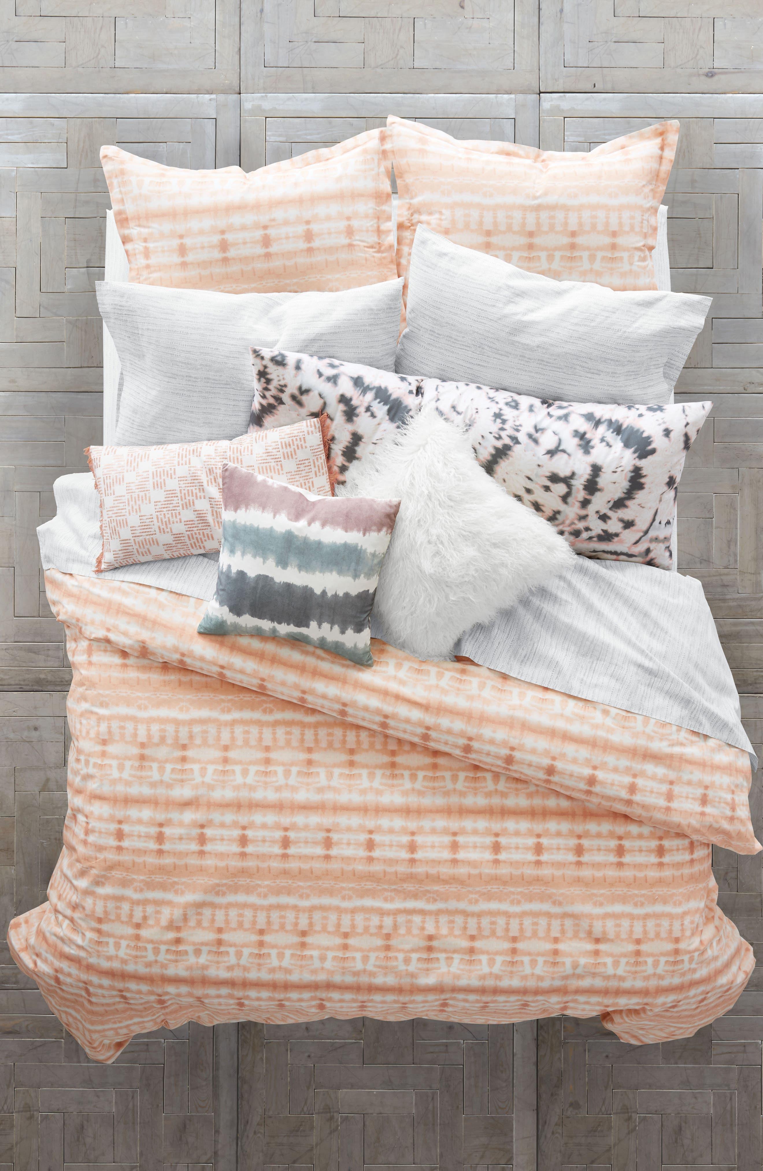 Ocean Waves Comforter & Sham Set,                         Main,                         color, Light/ Pastel Pink