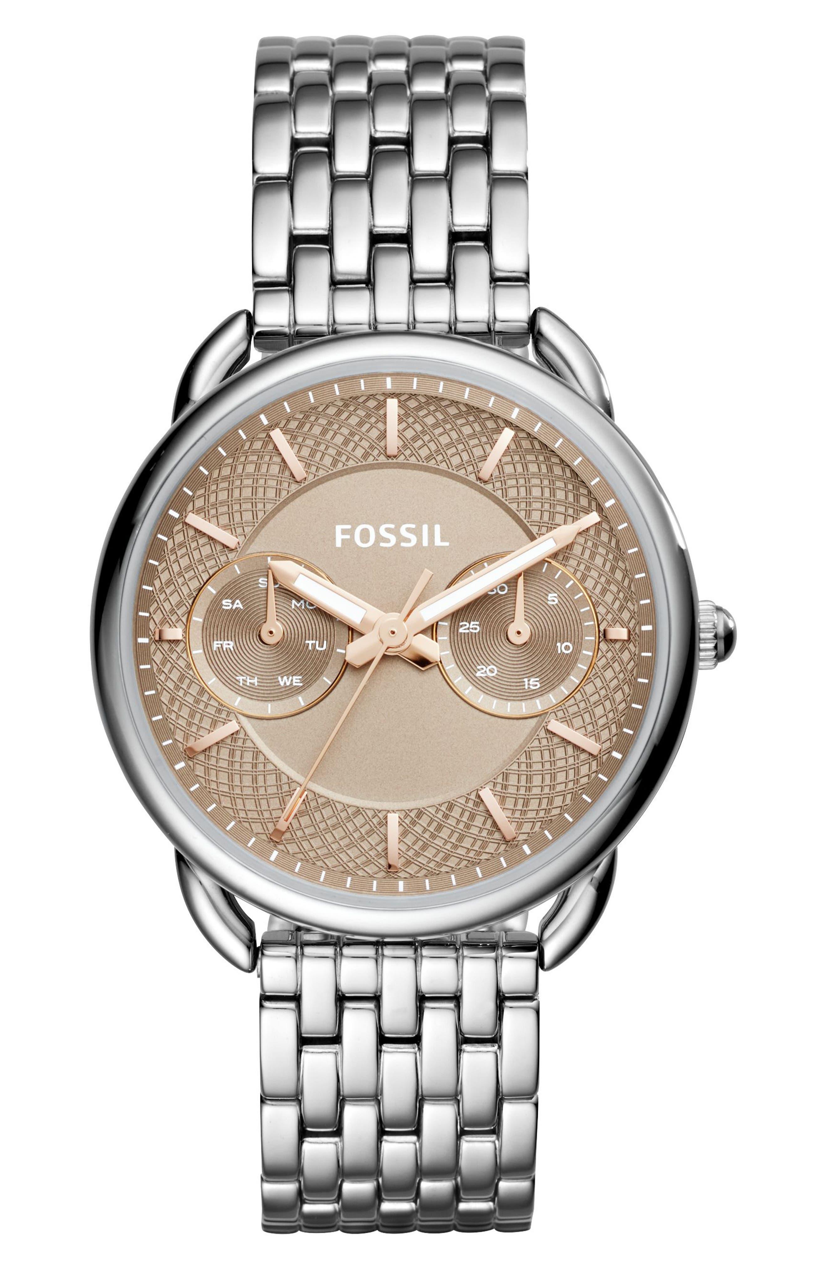 Fossil Tailor Bracelet Watch, 35mm