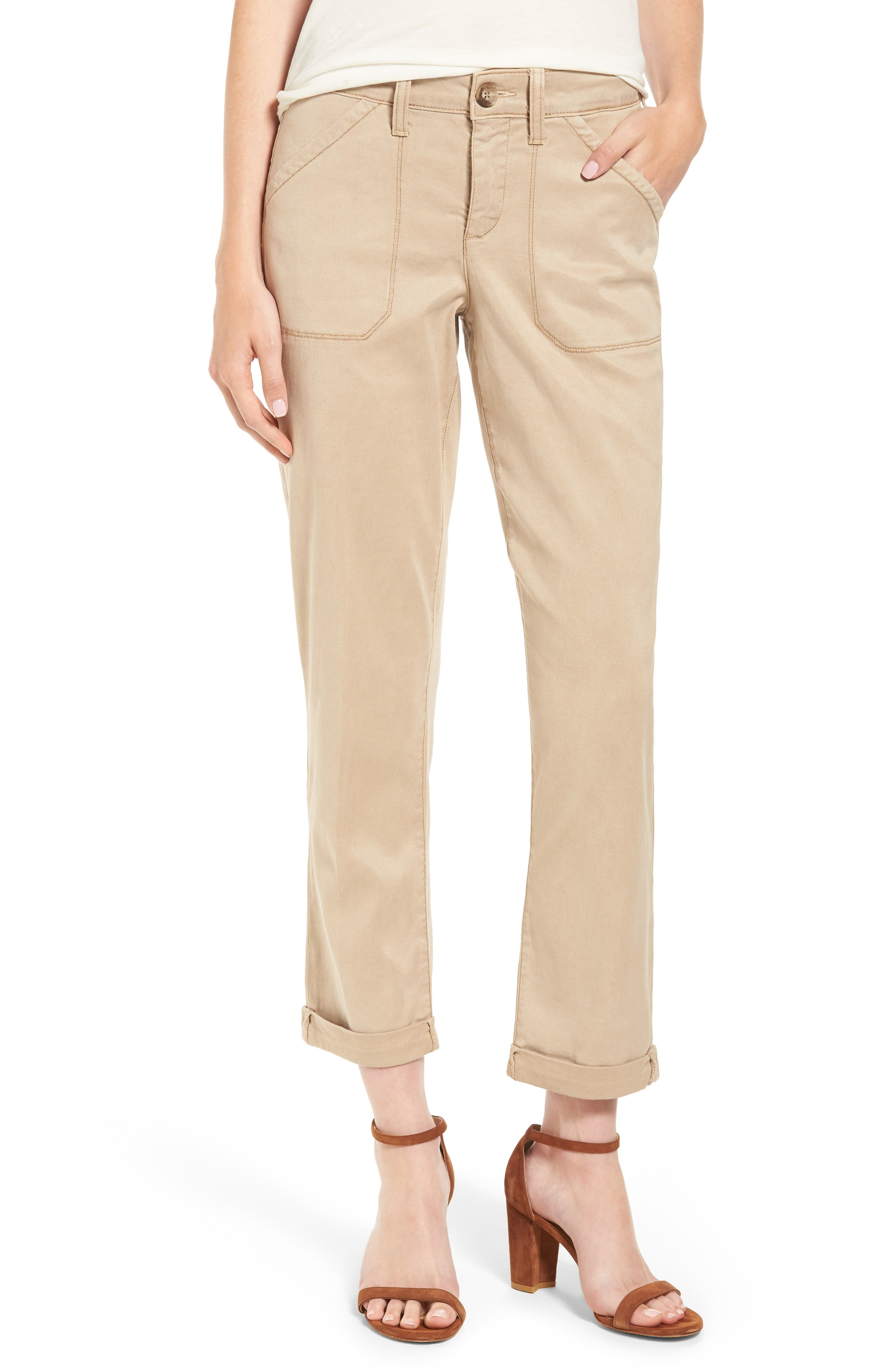 Alternate Image 1 Selected - NYDJ Reese Relaxed Chino Pants