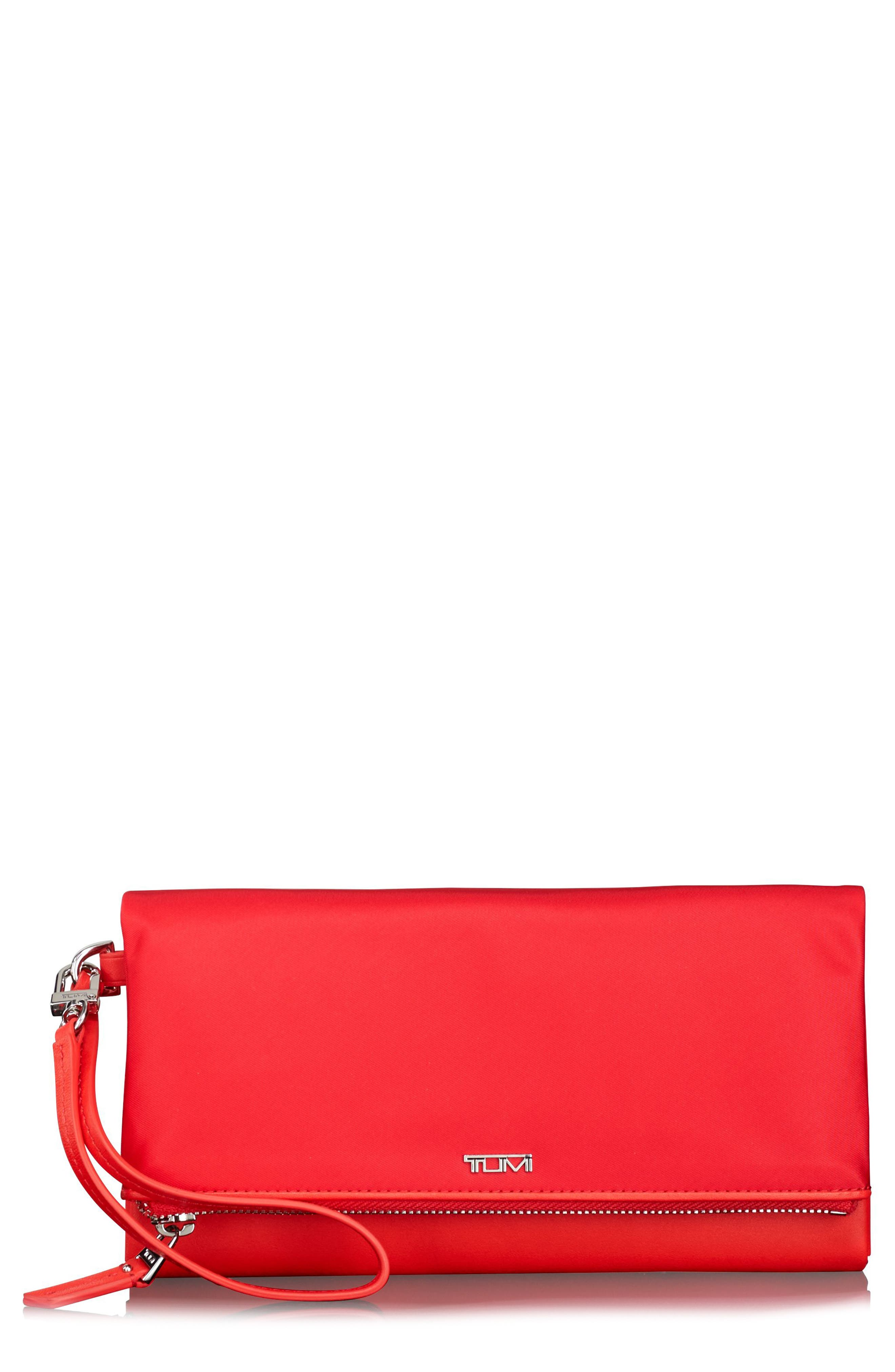 Alternate Image 1 Selected - Tumi Travel Flap Wallet