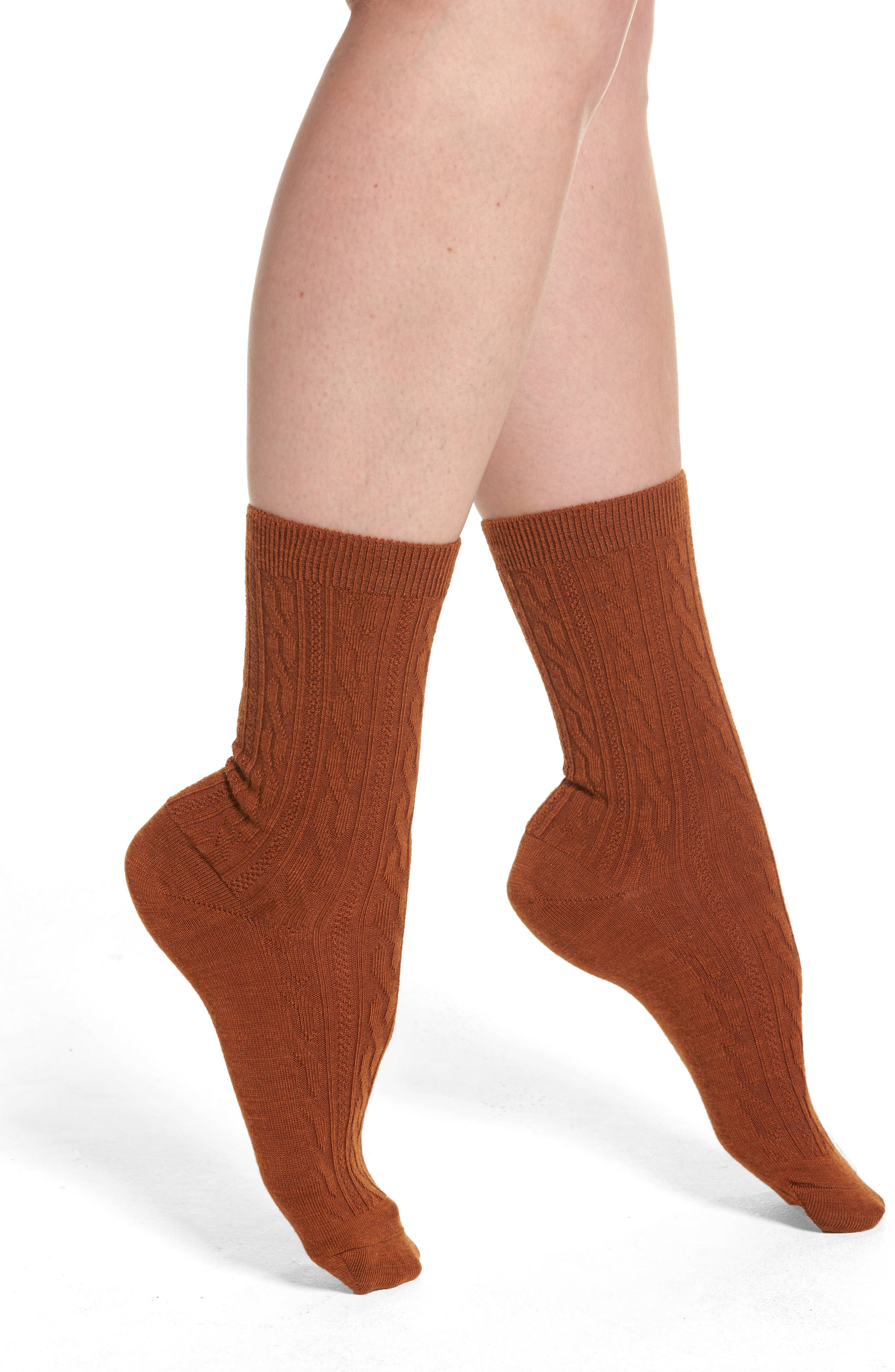 Smartwool Cable Crew Socks