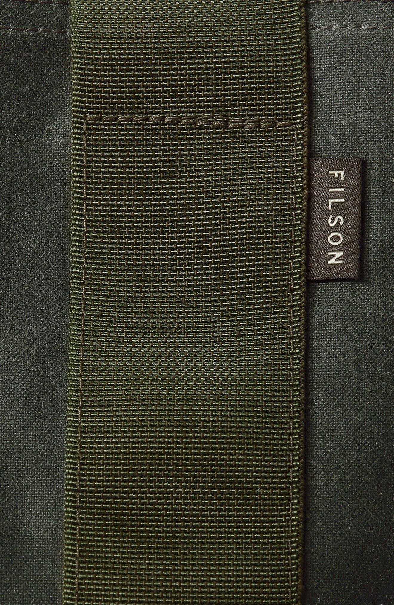 Convertible Duffel Bag,                             Alternate thumbnail 8, color,                             Otter Green