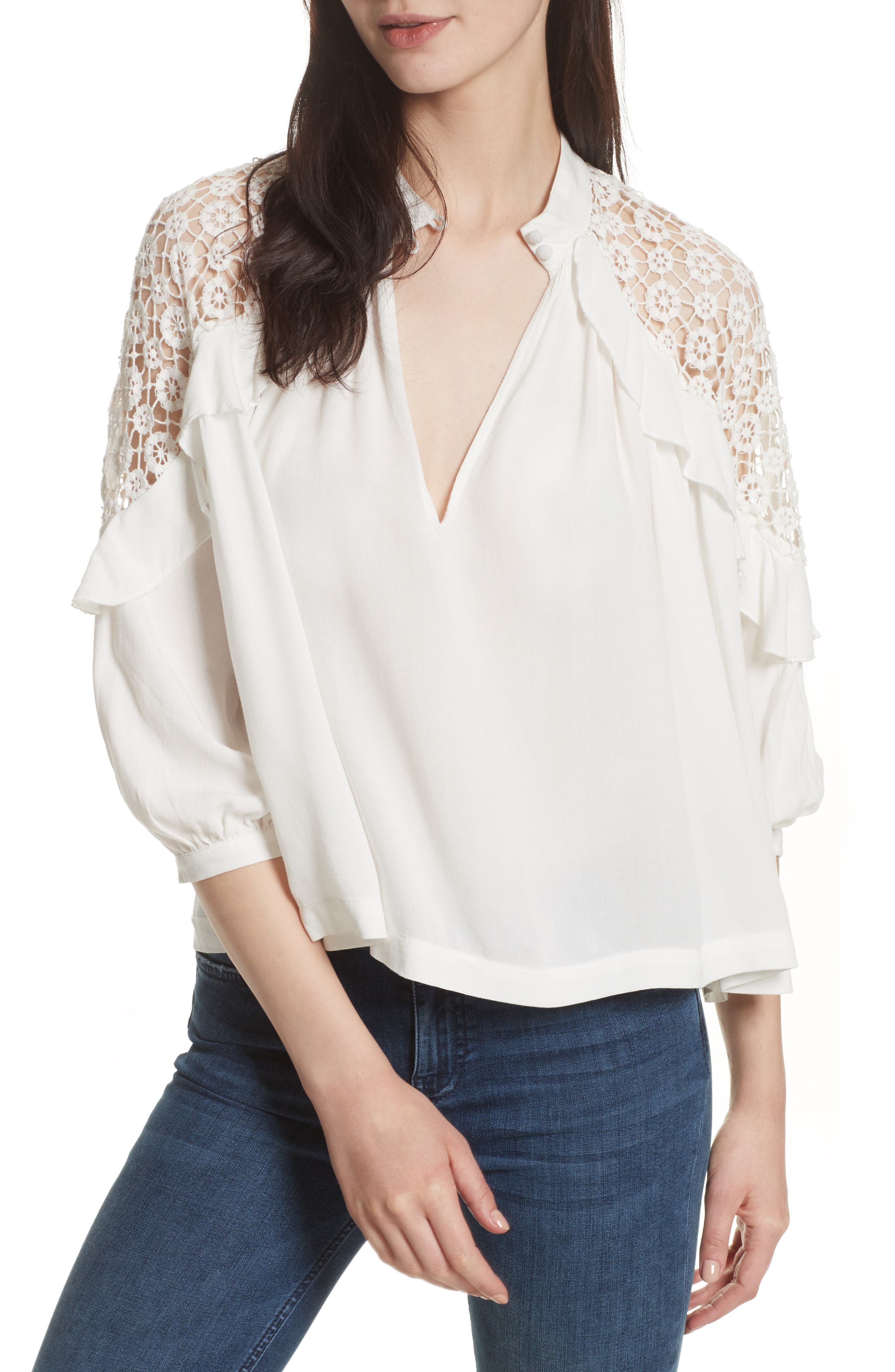 Free People Little Bit of Love Top