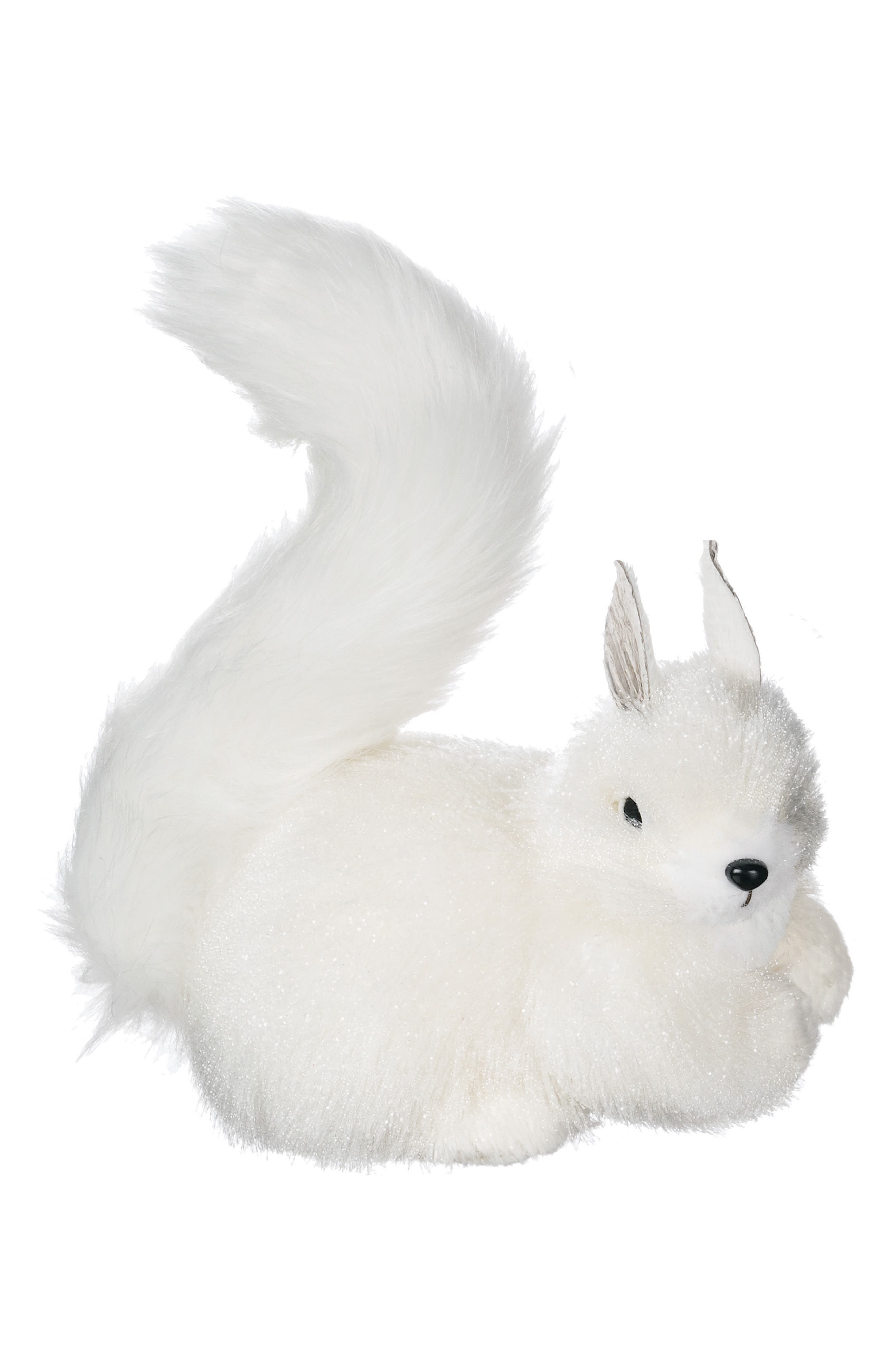 Sitting Squirrel Decoration,                             Main thumbnail 1, color,                             White