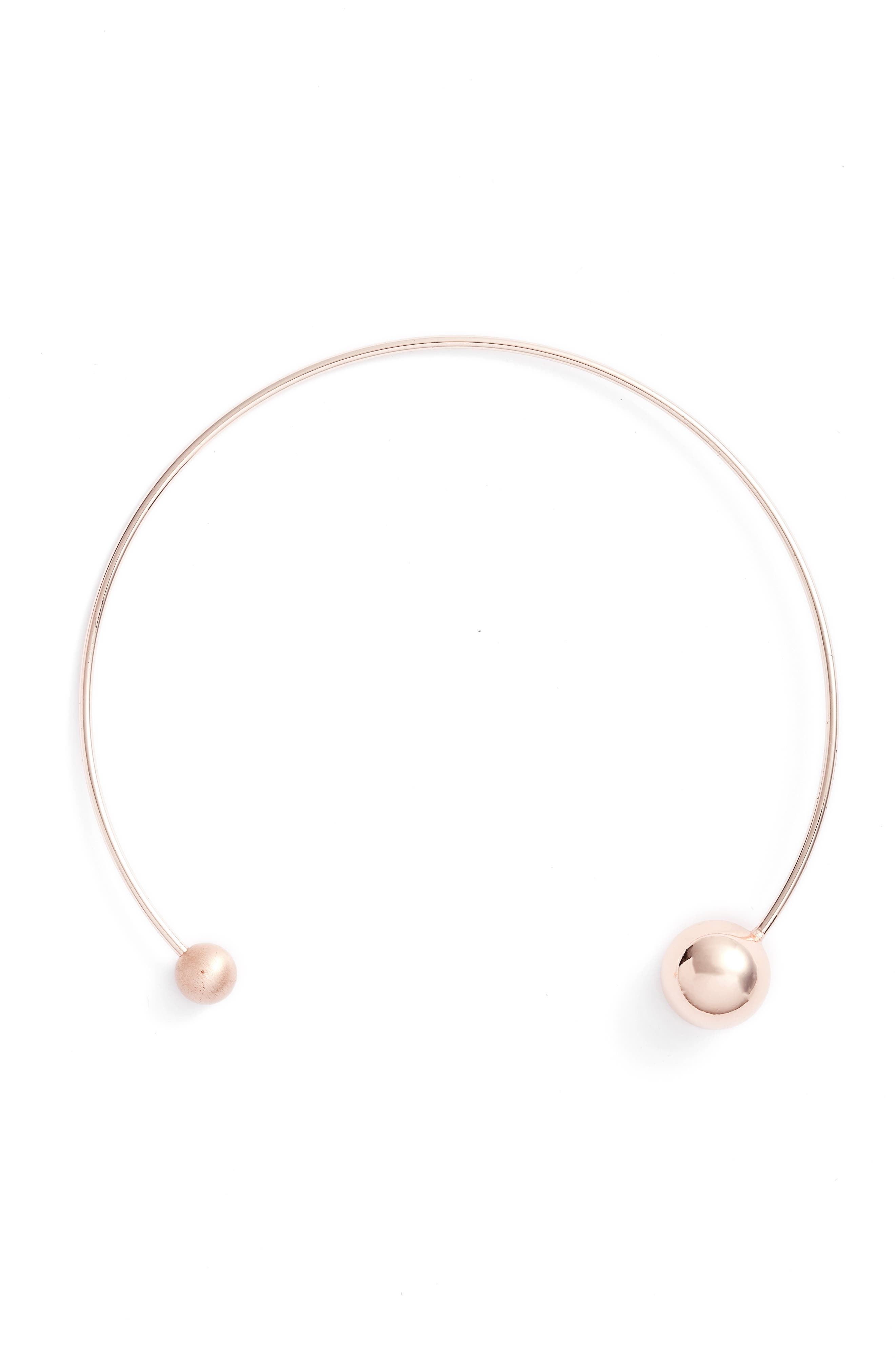 REBECCA MINKOFF Sphere Collar Necklace