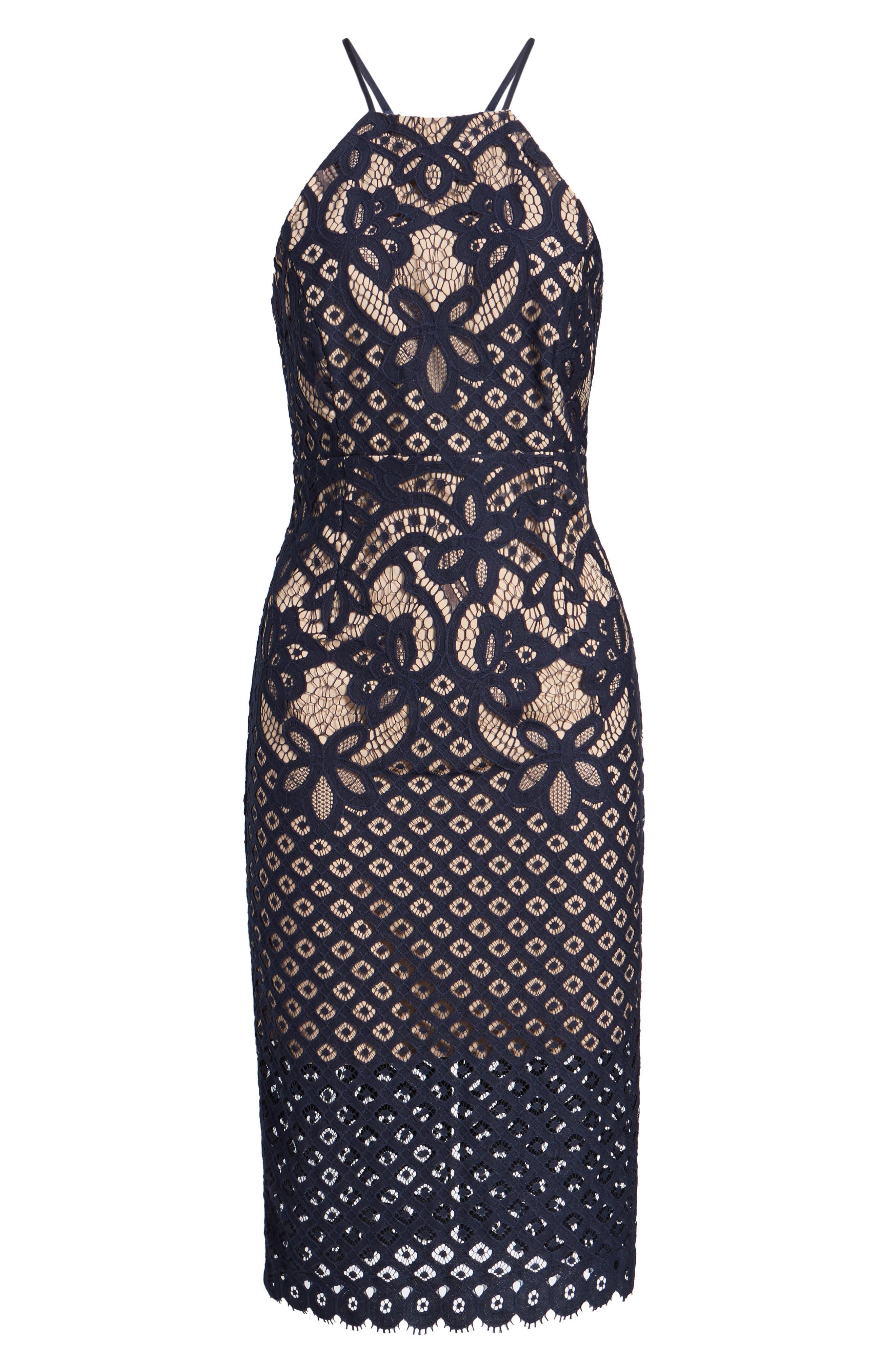 Alternate Image 6  - Bardot Mila Lace Dress