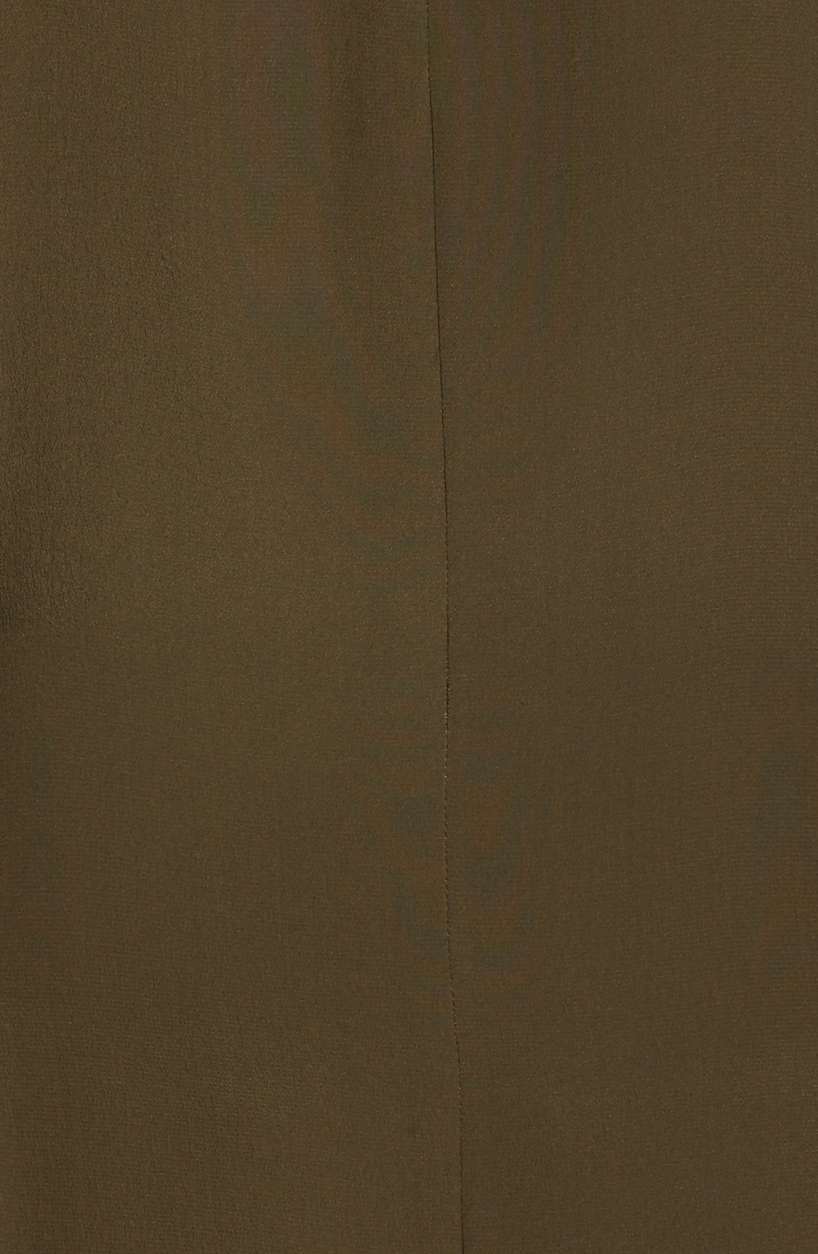 Alternate Image 5  - Michael Kors Silk Crêpe de Chine Cowl Neck Shirtdress