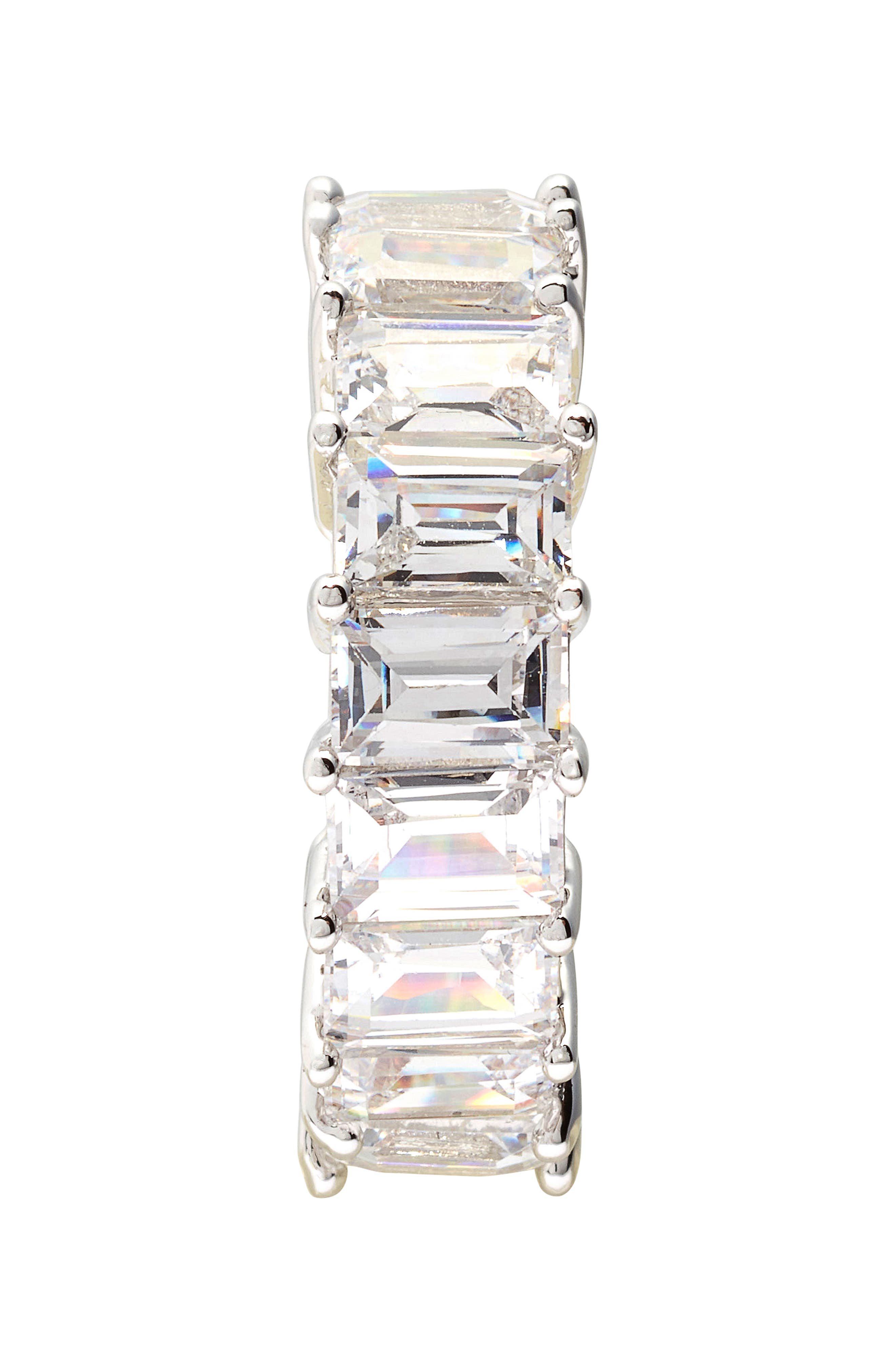 Alternate Image 2  - CZ by Kenneth Jay Lane Eternity Ring