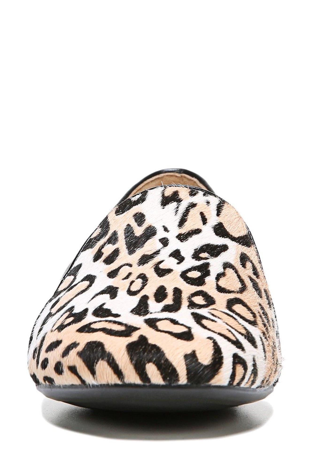 Emiline 2 Loafer,                             Alternate thumbnail 4, color,                             Cheetah Brahma Hair
