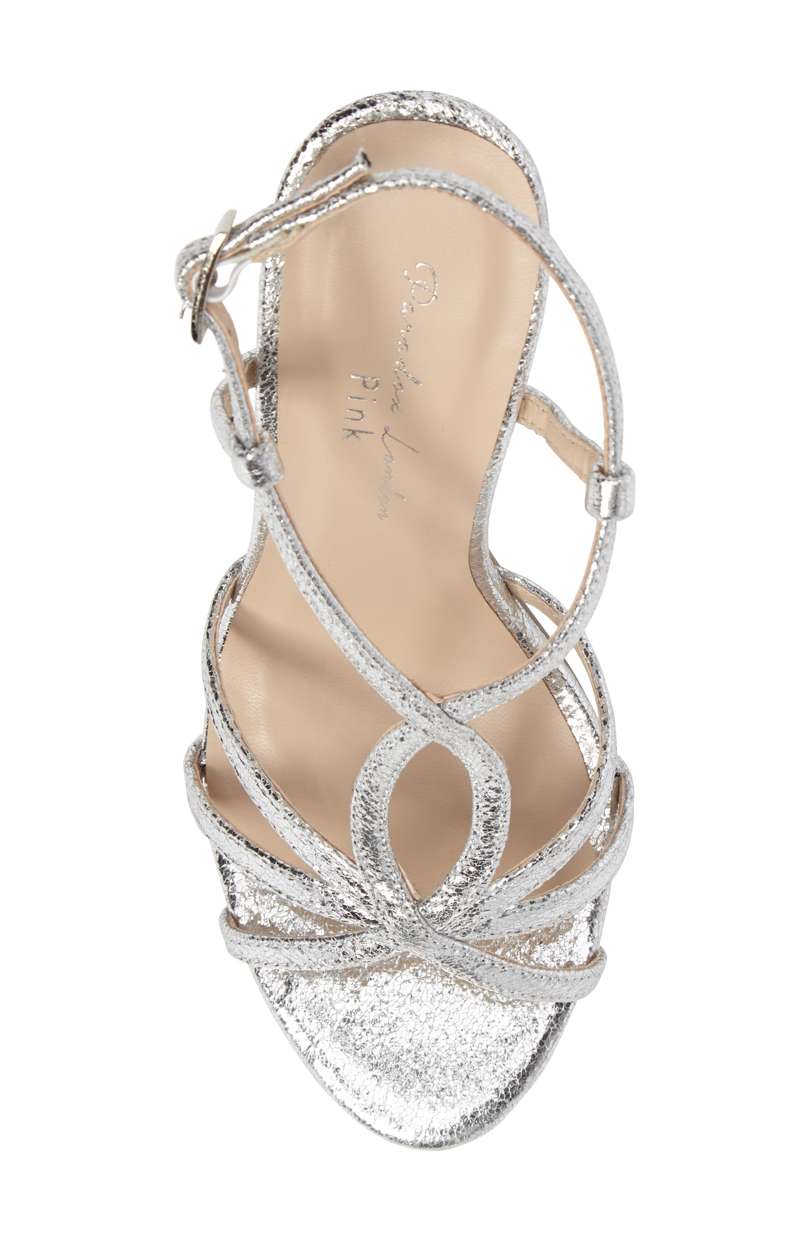 Magic Slingback Sandal,                             Alternate thumbnail 4, color,                             Silver