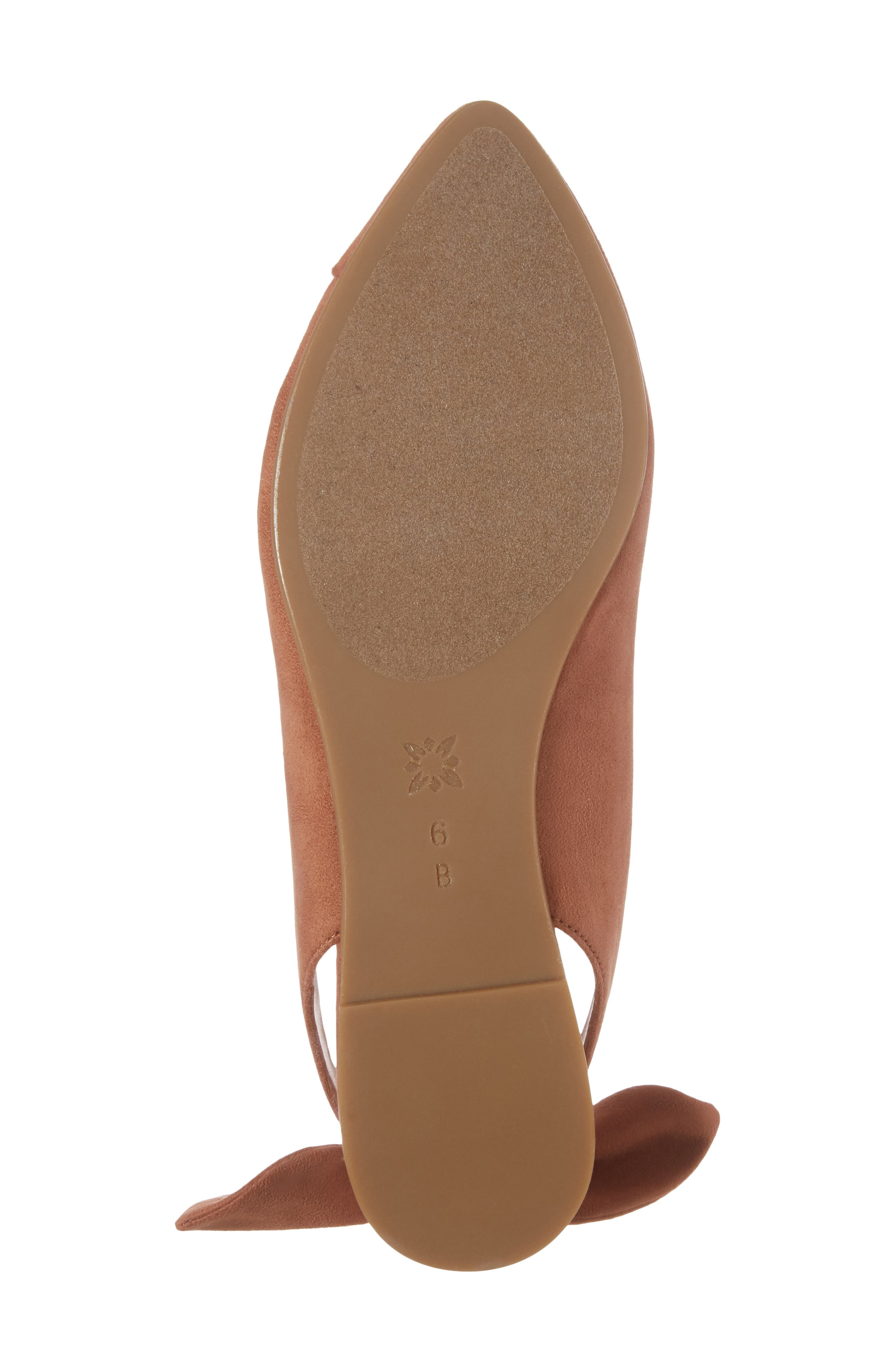 Alternate Image 6  - BCBG Mara Bow Pointy Toe Flat (Women)