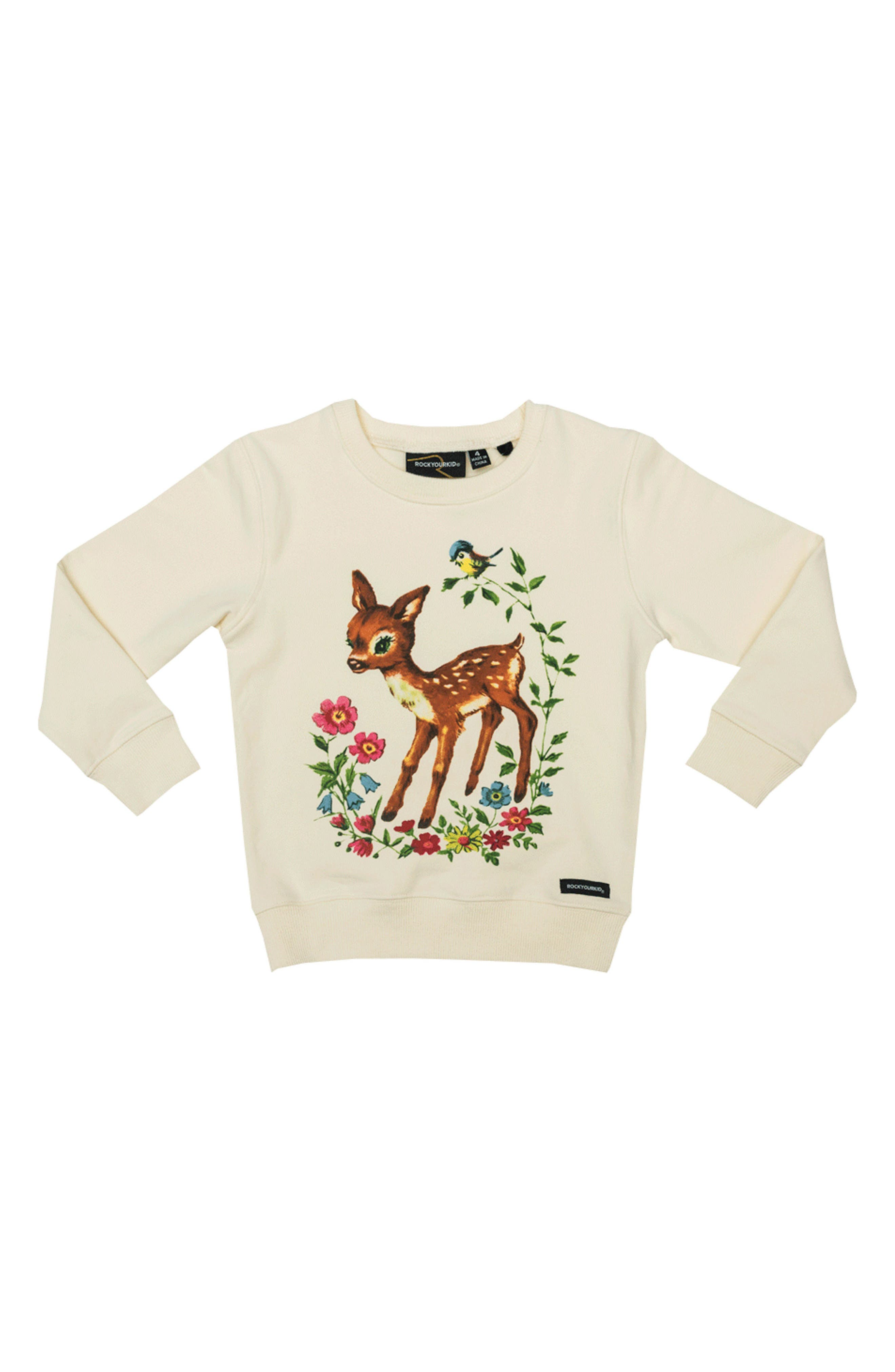 Rock Your Kid Storybook Pullover (Toddler Girls & Little Girls)