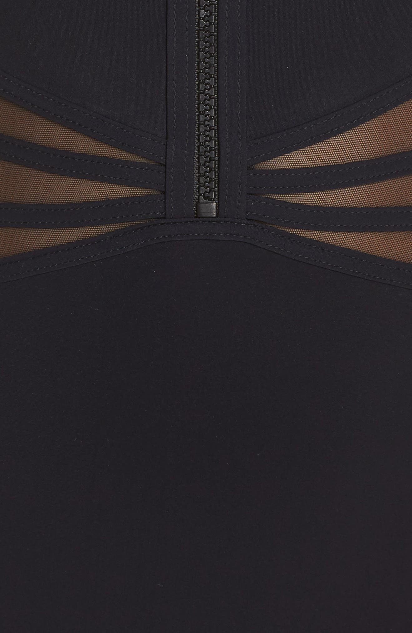Alternate Image 5  - Profile by Gottex Grand Prix One-Piece Swimsuit
