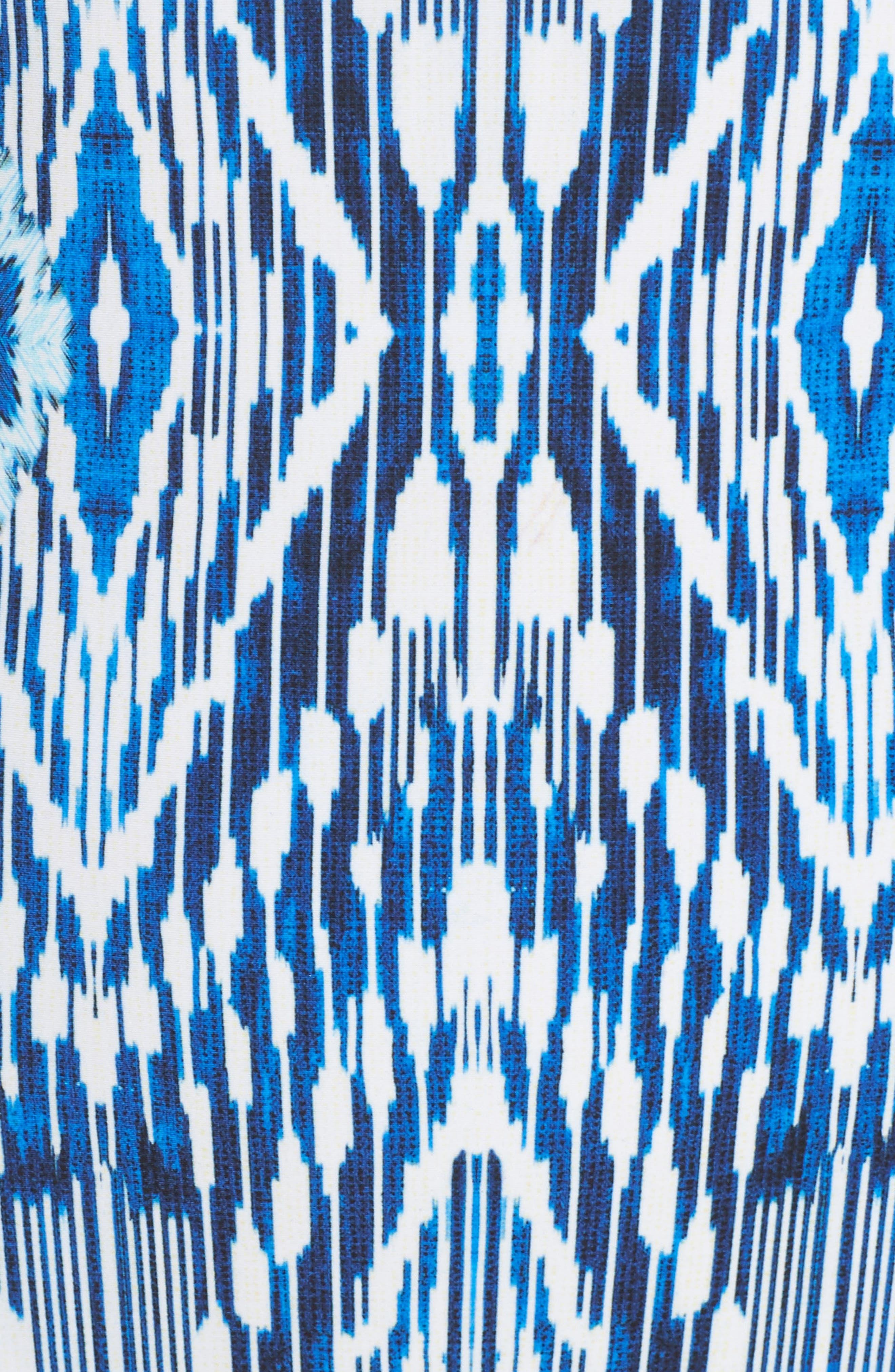 Java Illusion One-Piece Swimsuit,                             Alternate thumbnail 5, color,                             Multi Blue