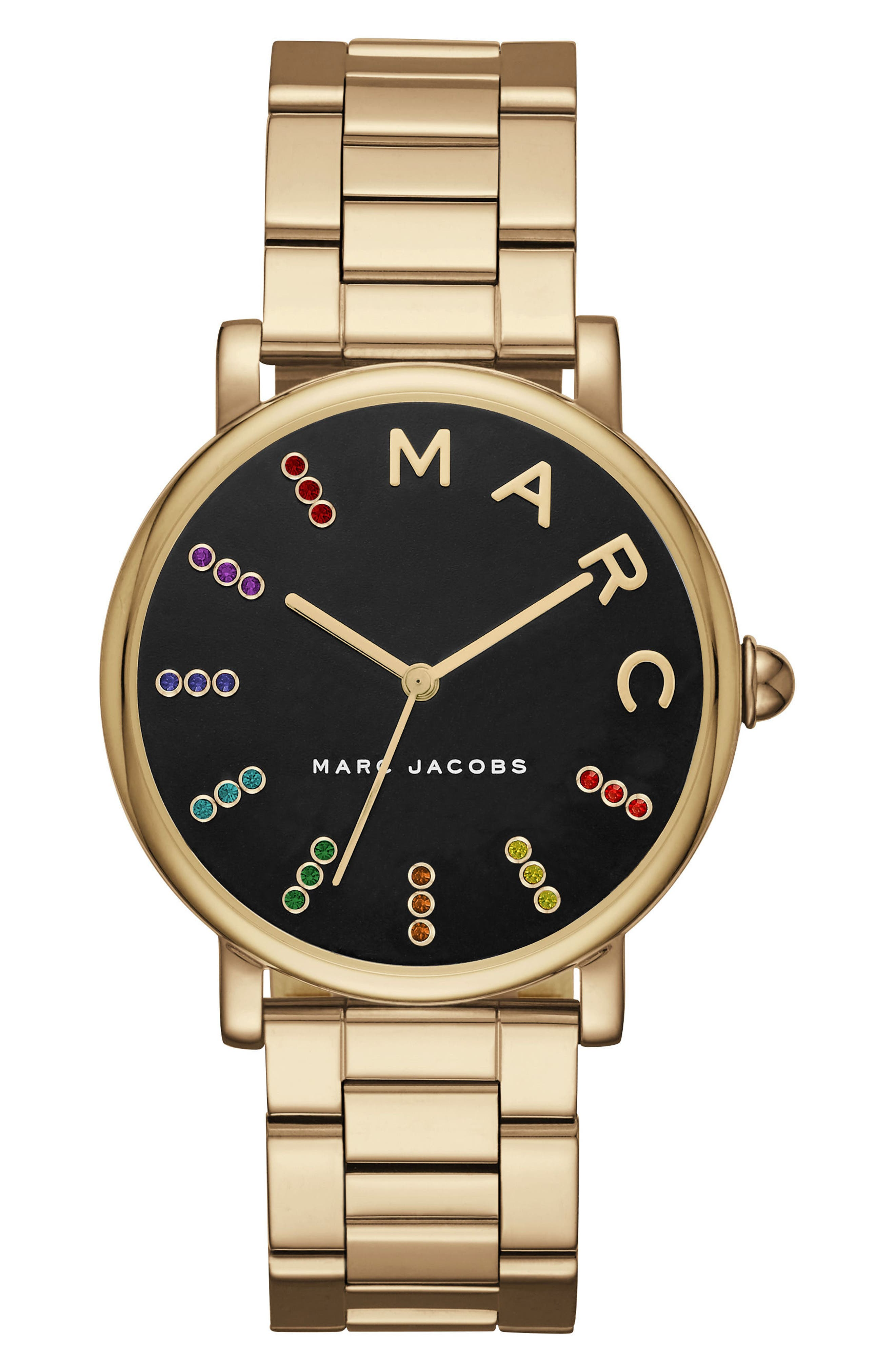 MARC JACOBS Roxy Crystal Bracelet Watch, 36mm