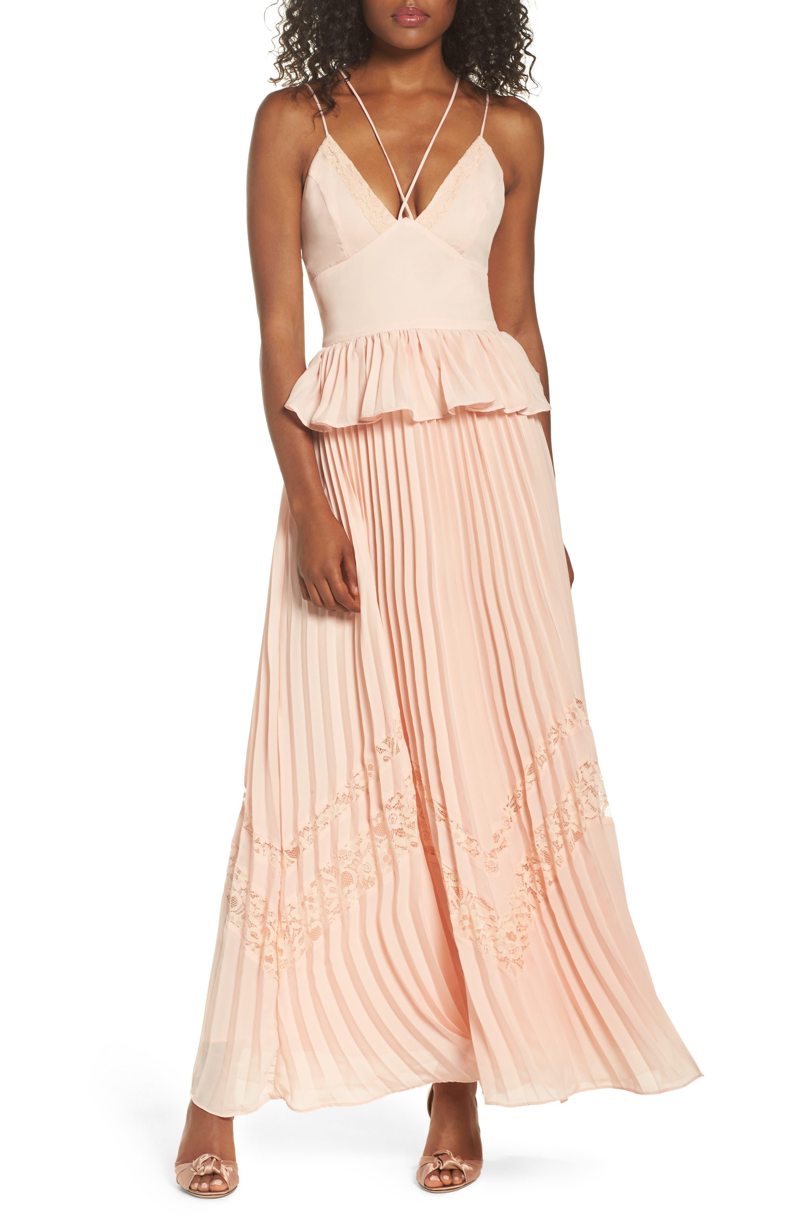 True Decadence by Glamorous Strappy Maxi Dress