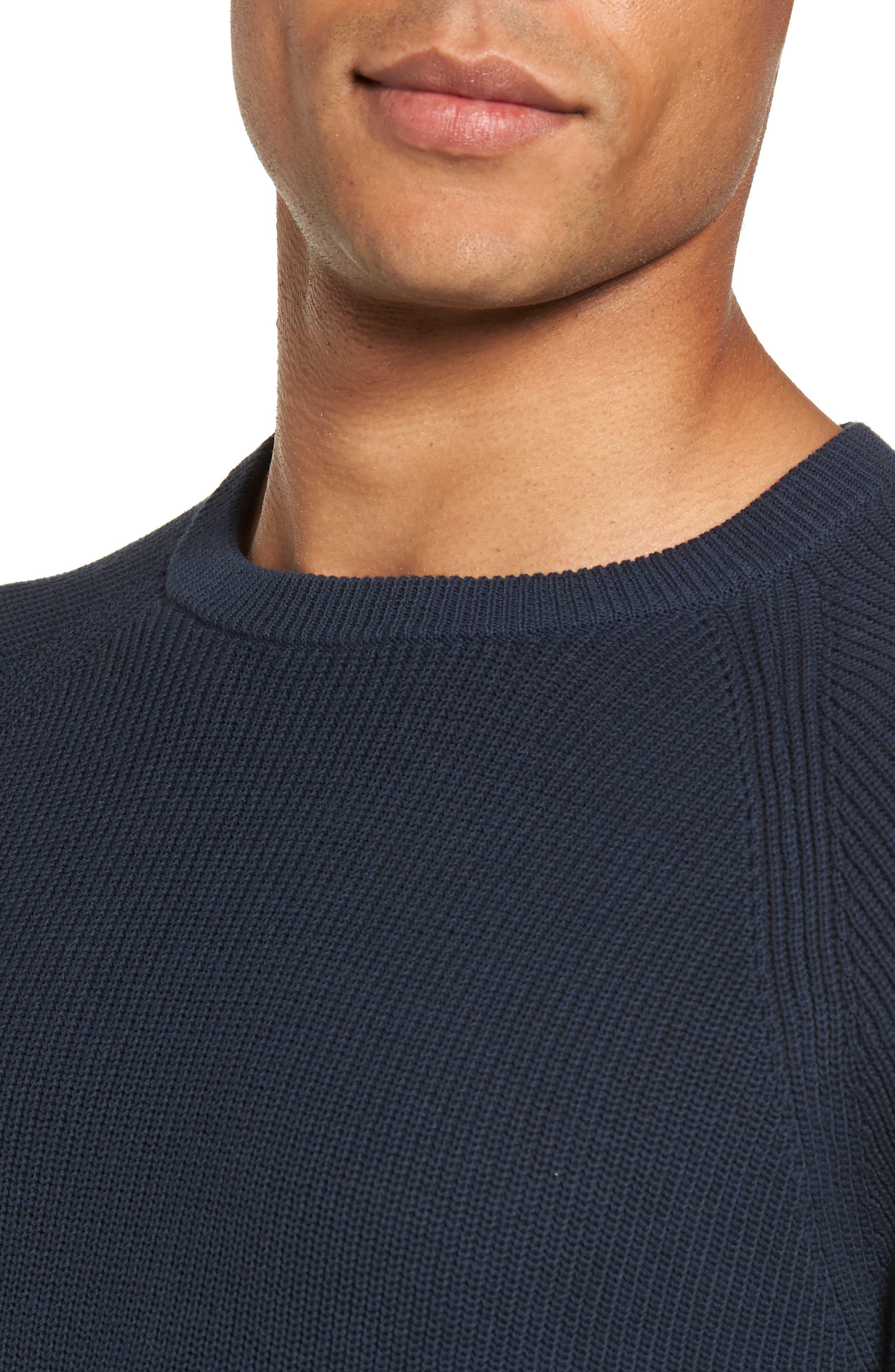 Alternate Image 4  - Nordstrom Men's Shop Crewneck Sweater (Regular)