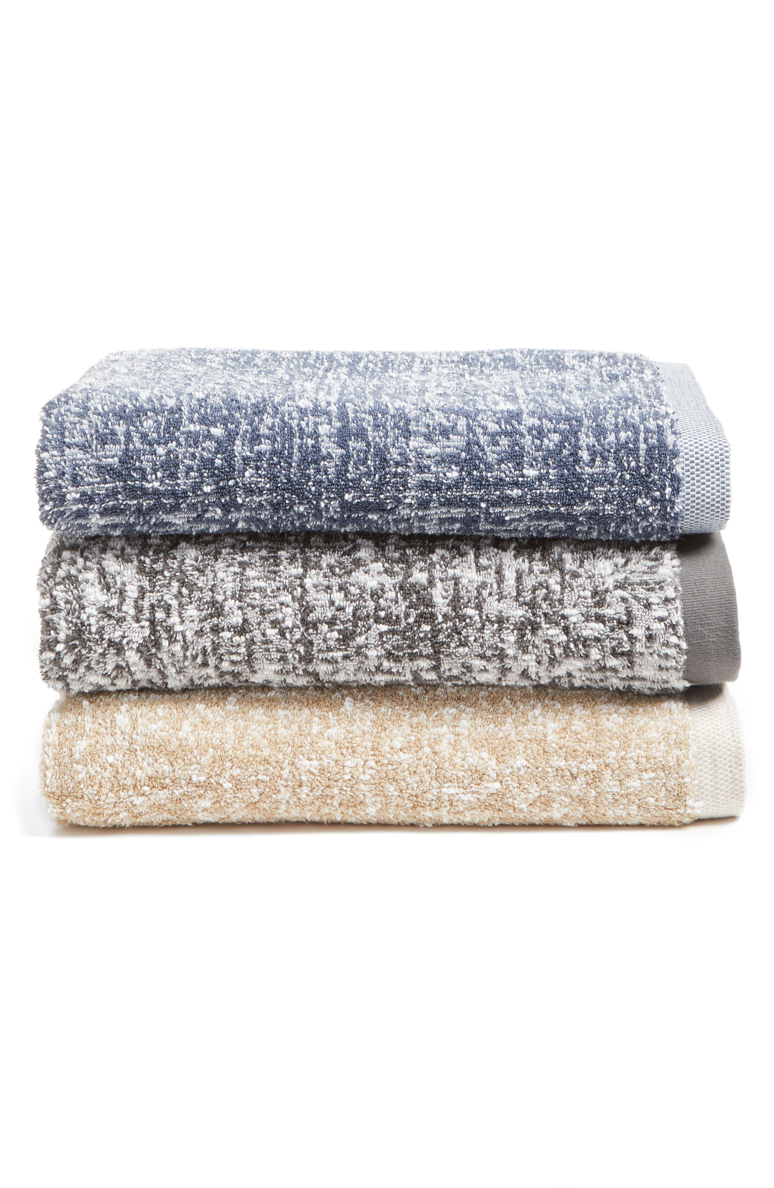 Alternate Image 4  - Nordstrom at Home Tweed Jacquard Bath Towel