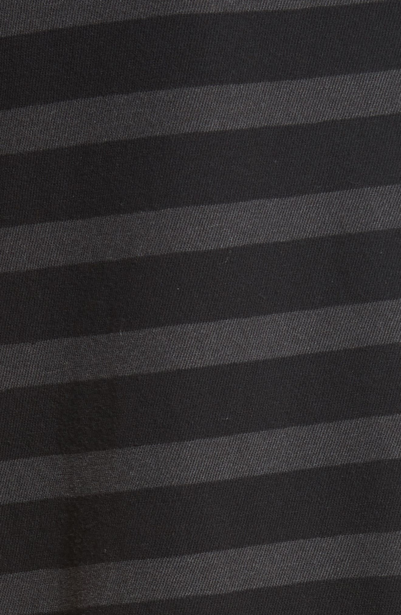 Alternate Image 5  - THE GREAT. The Ruffle Stripe Tee