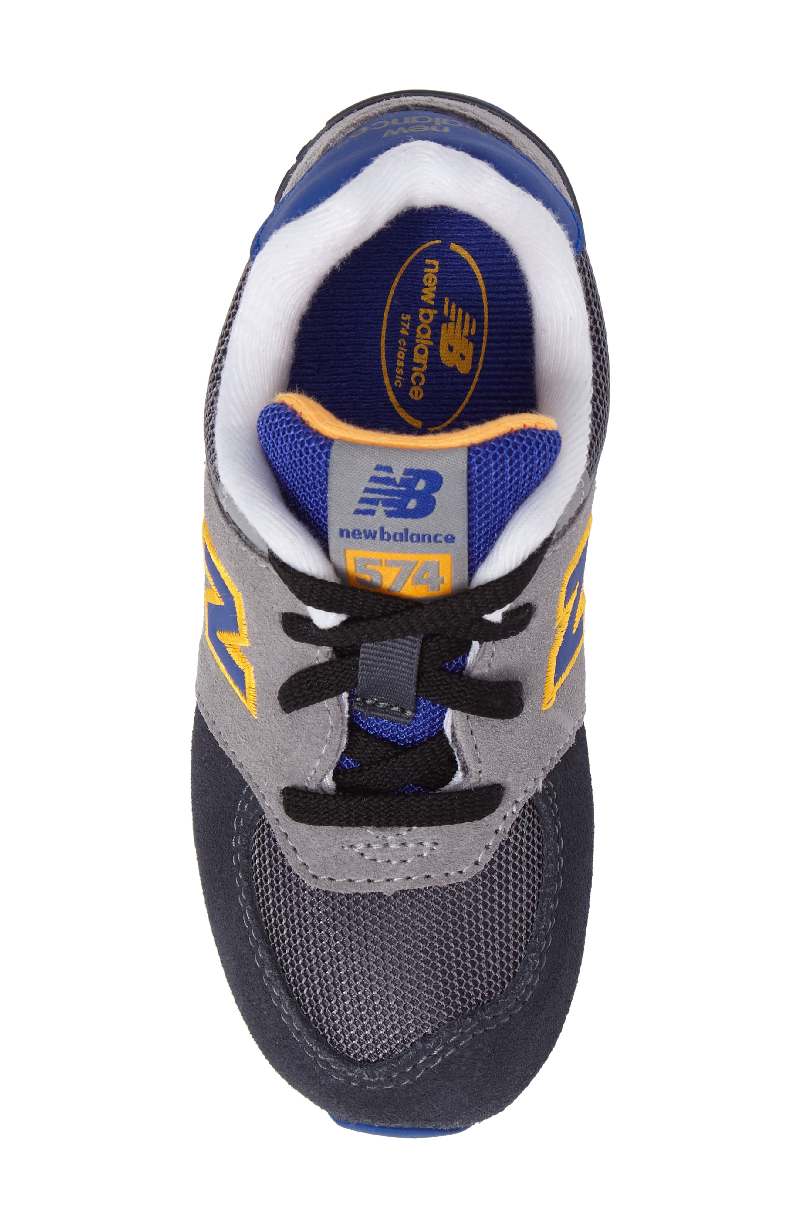 Alternate Image 5  - New Balance 574 Cut & Paste Sneaker (Baby, Walker & Toddler)