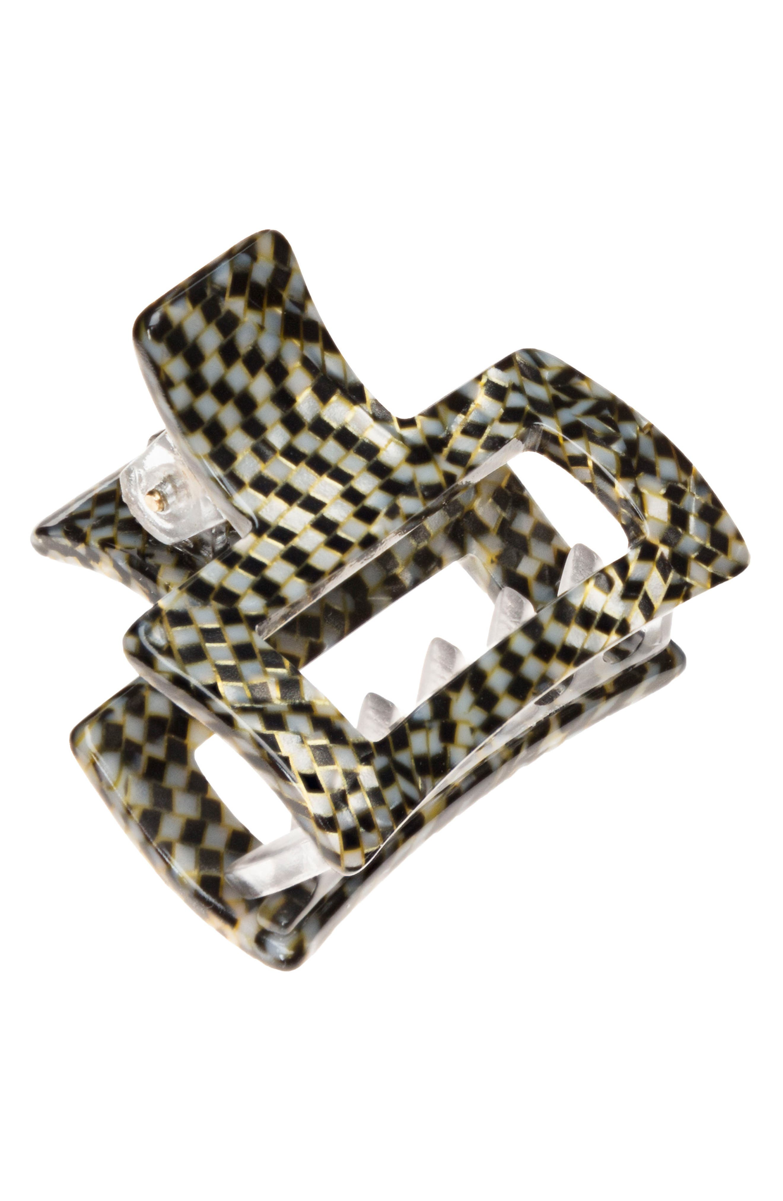 Main Image - France Luxe Small Cutout Jaw Clip
