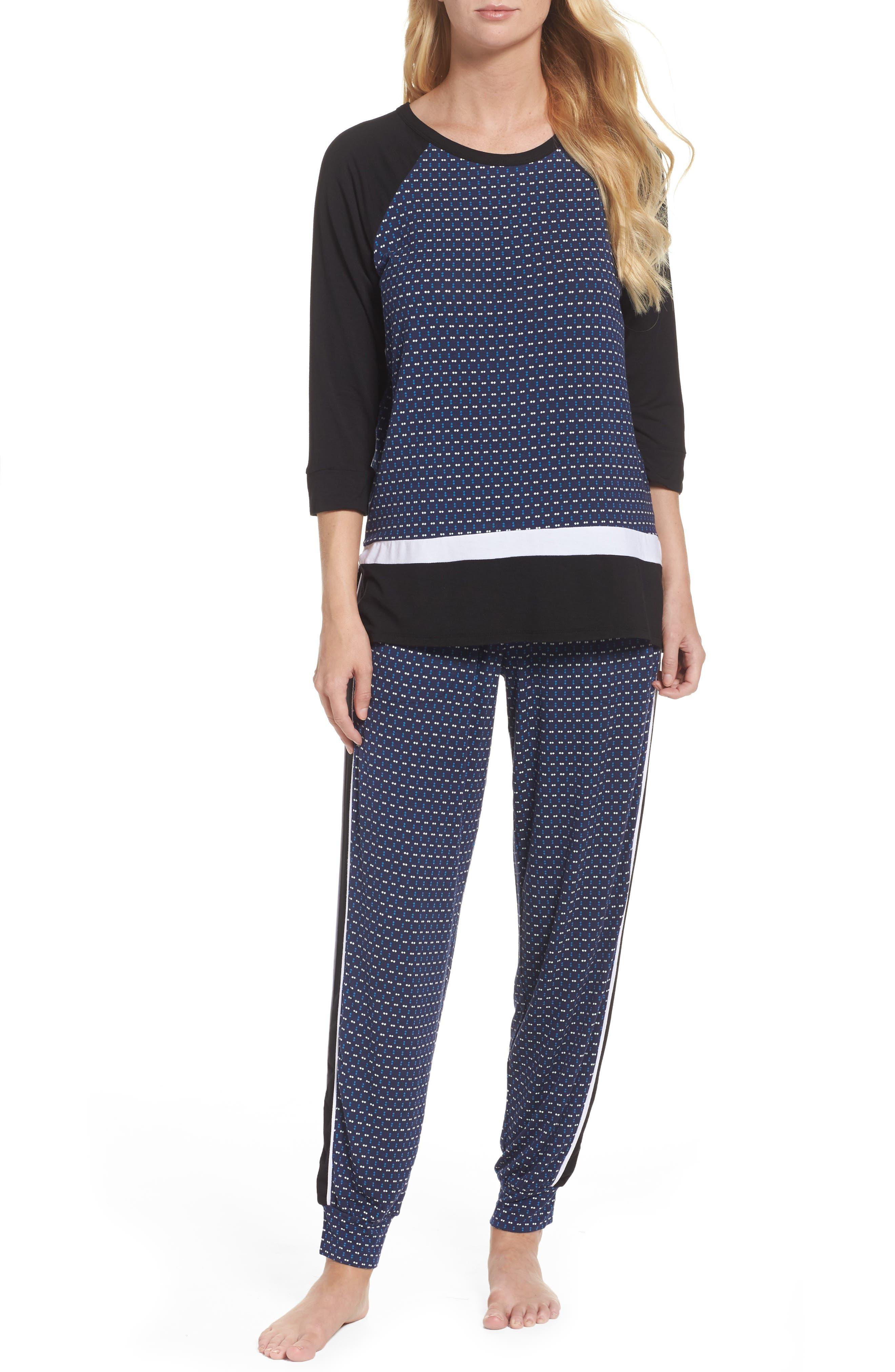Alternate Image 4  - DKNY Sleep Jogger Pants