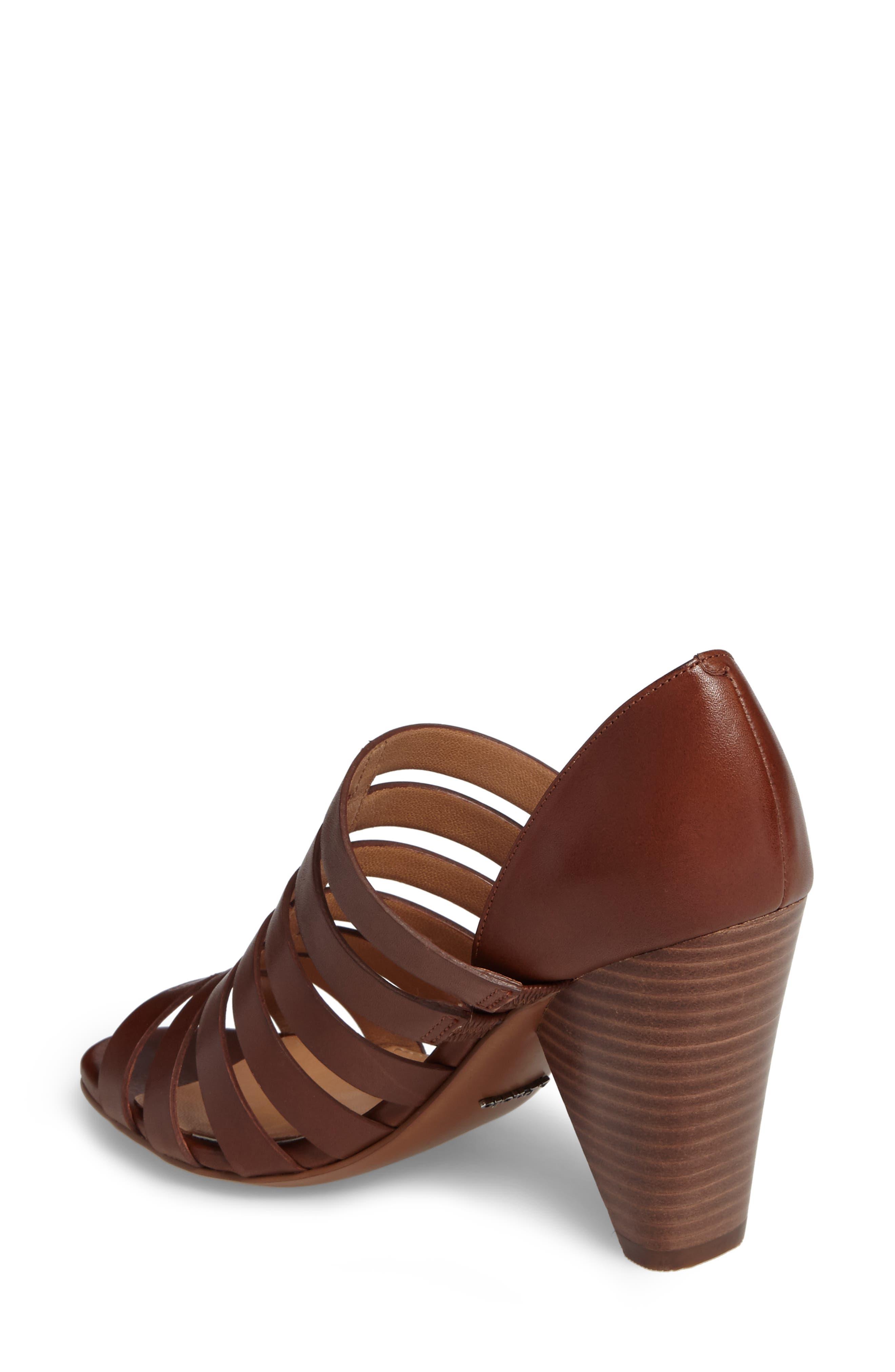 Alternate Image 2  - Linea Paolo Pierce Chisel Heel Cage Sandal (Women)