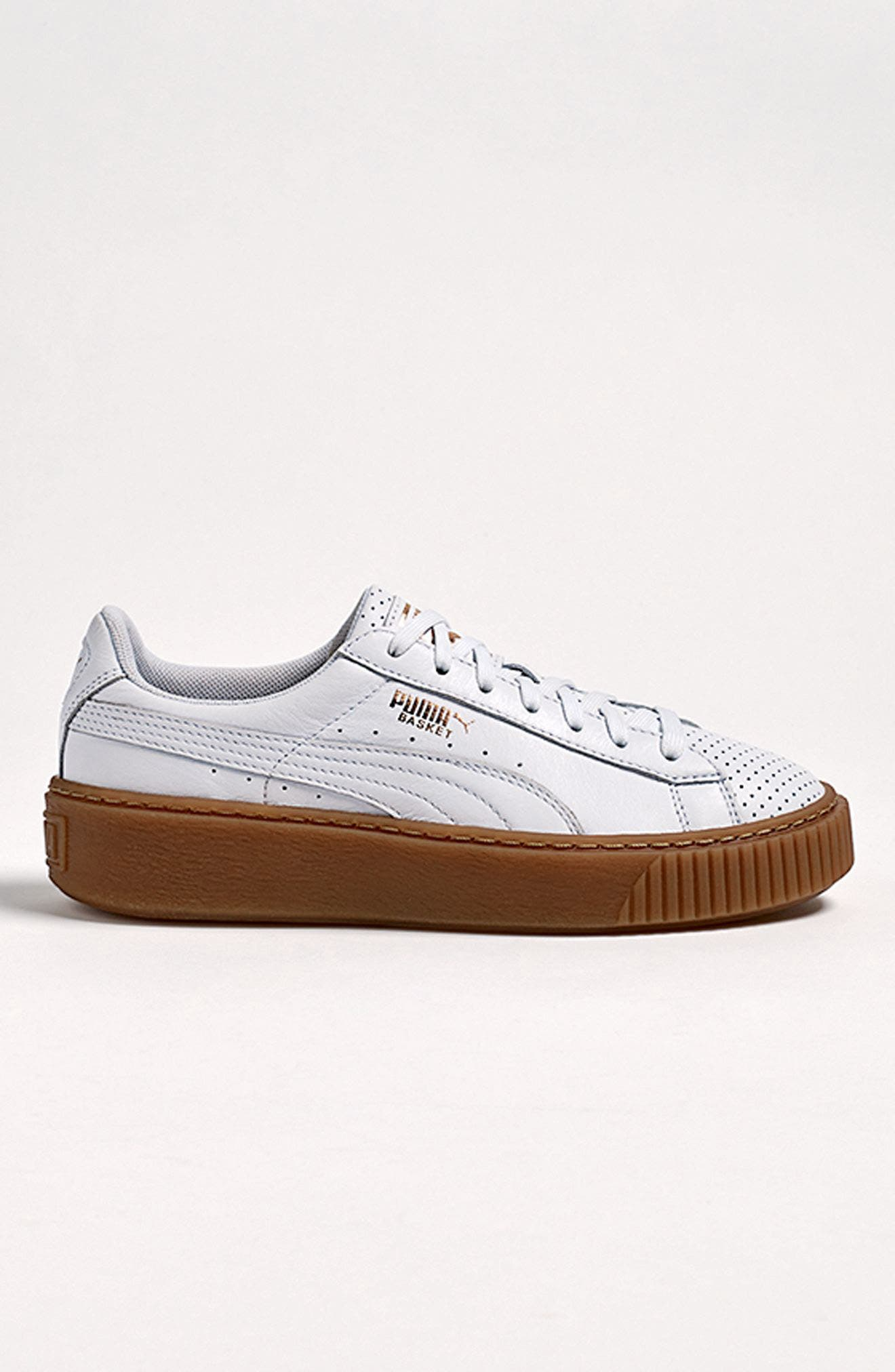 Alternate Image 7  - PUMA Basket Platform Sneaker (Women)