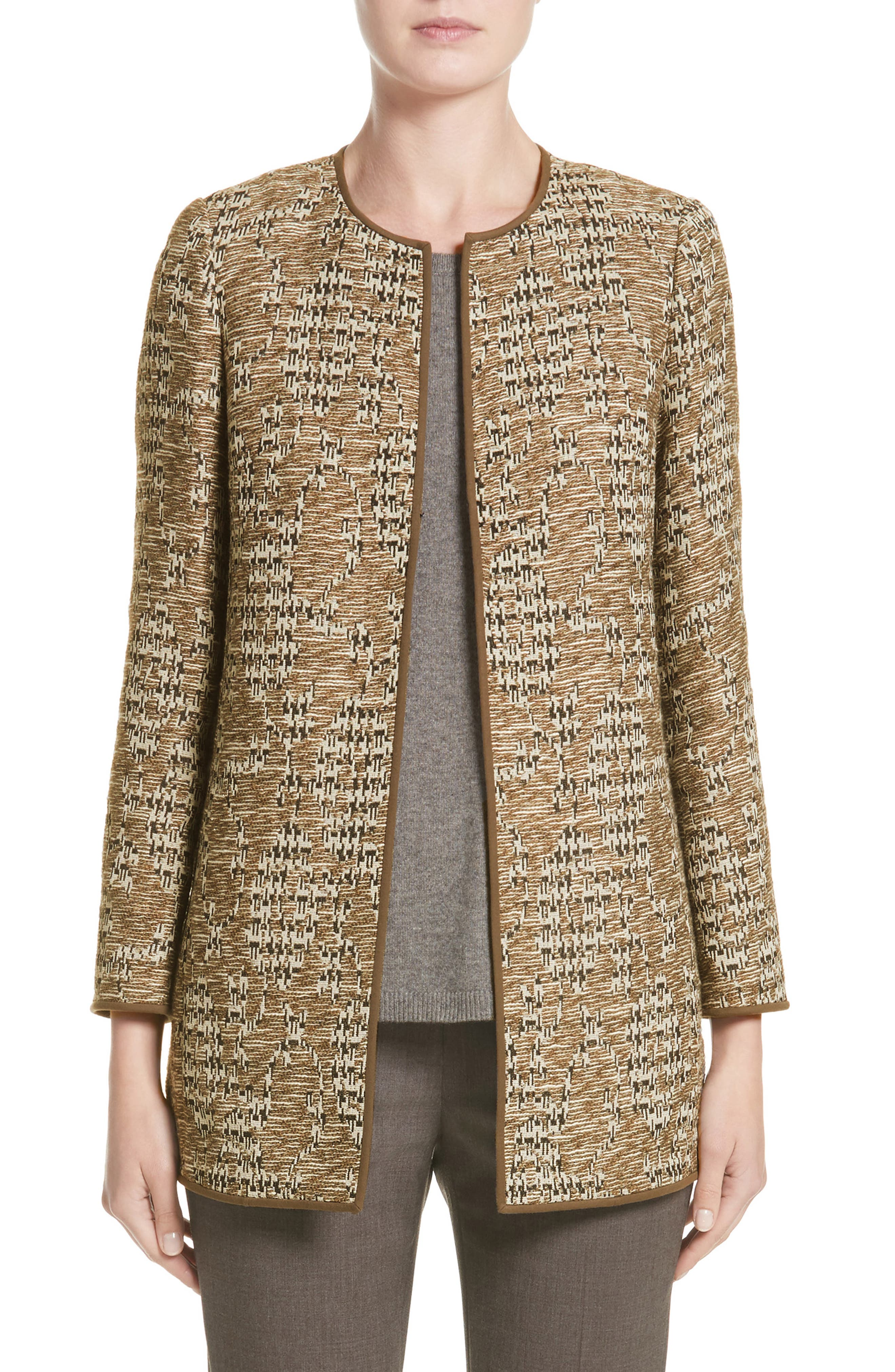 LAFAYETTE 148 NEW YORK Pria Tweed Jacket